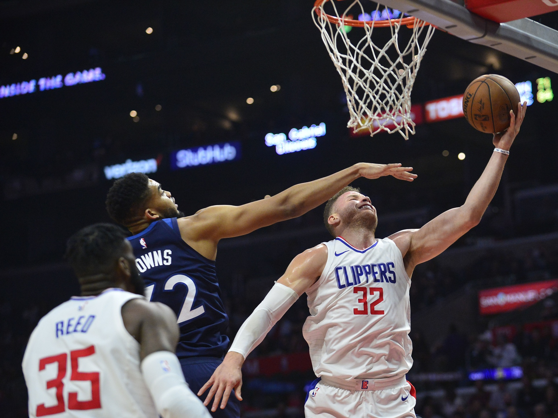 Clippers Fail to Rebound Literally and Metaphorically Against Wolves 126-118