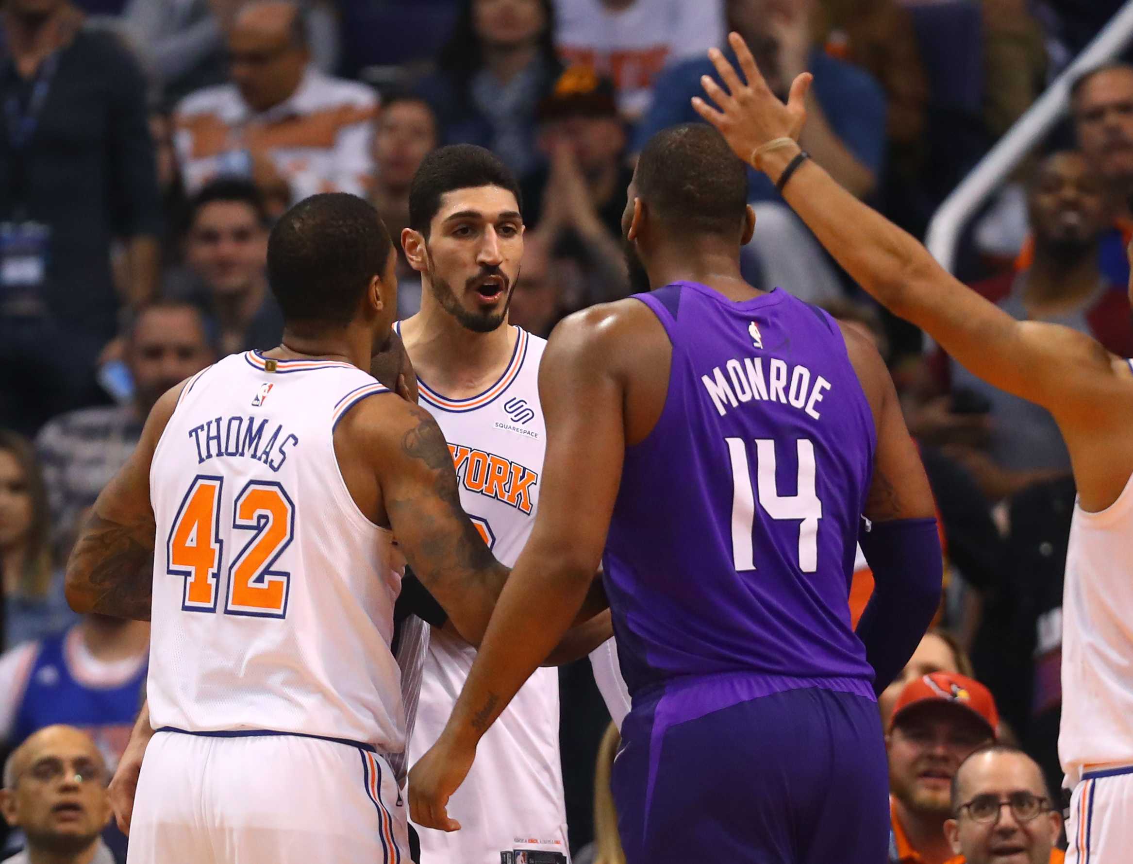 Heart and Soul of Enes Kanter leads Knicks over Suns