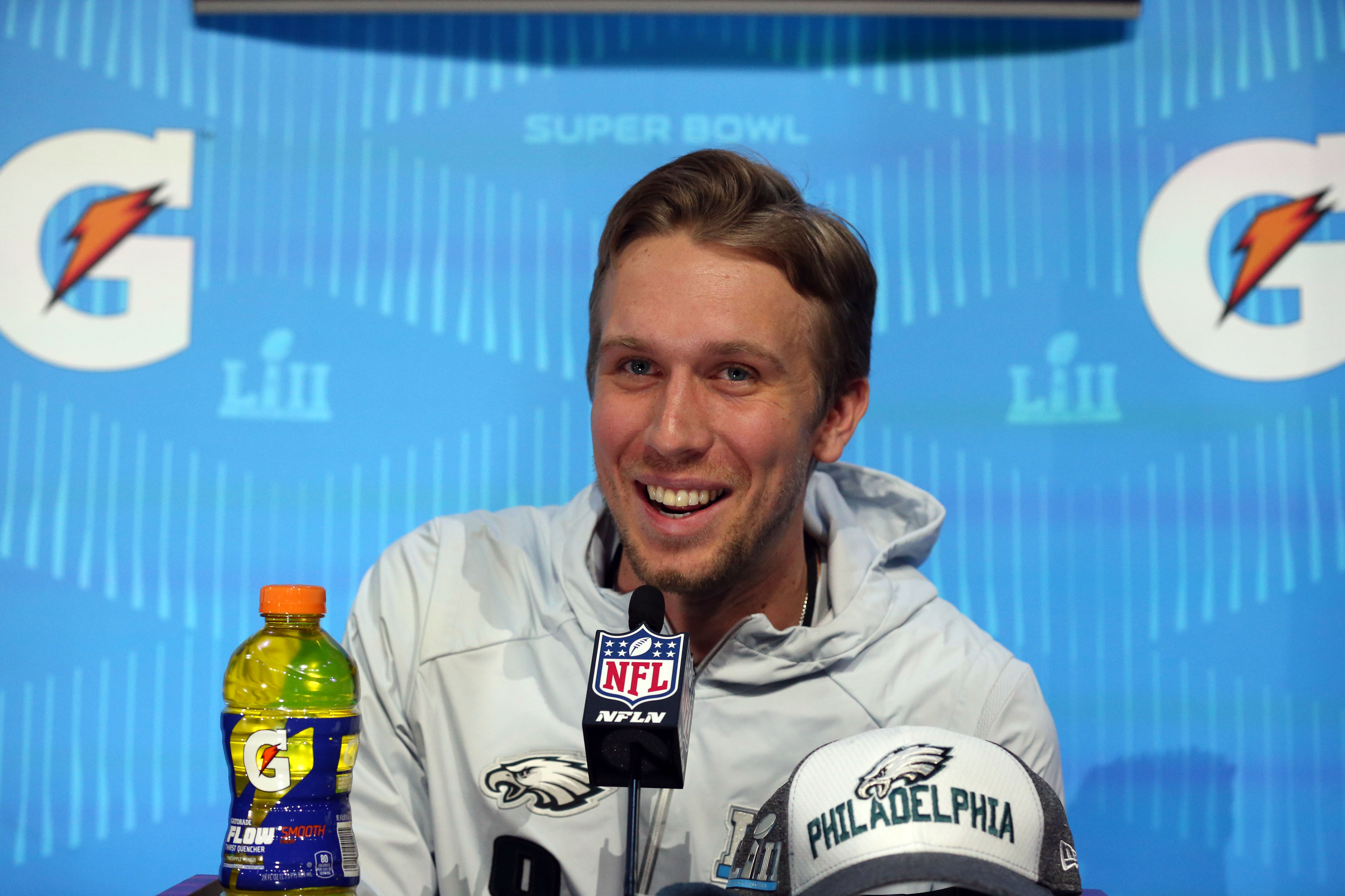 Nick Foles did not imagine he'd be starting QB in Super Bowl