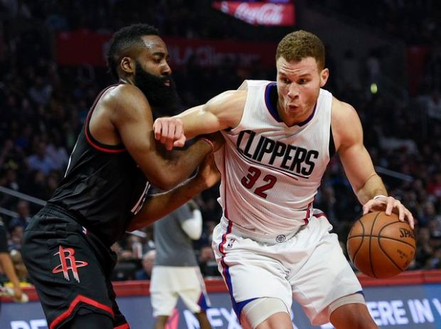James Harden jokes about Blake Griffin ahead of Rockets-Clippers