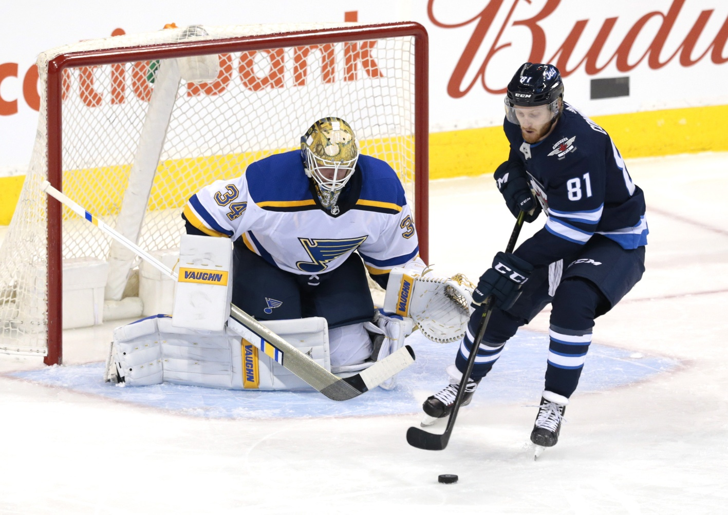 Jake Allen now has the third-most wins in Blues history
