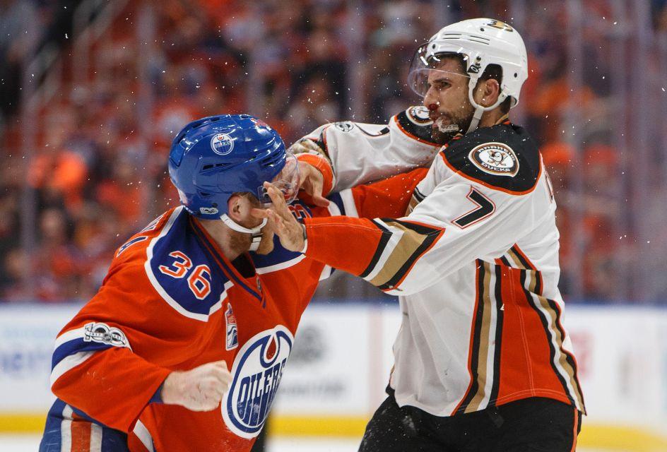 Oilers Gameday - @ Ducks
