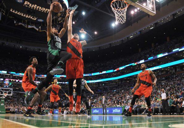 Recap: Al Horford powers Celtics to narrow matinee win over Portland