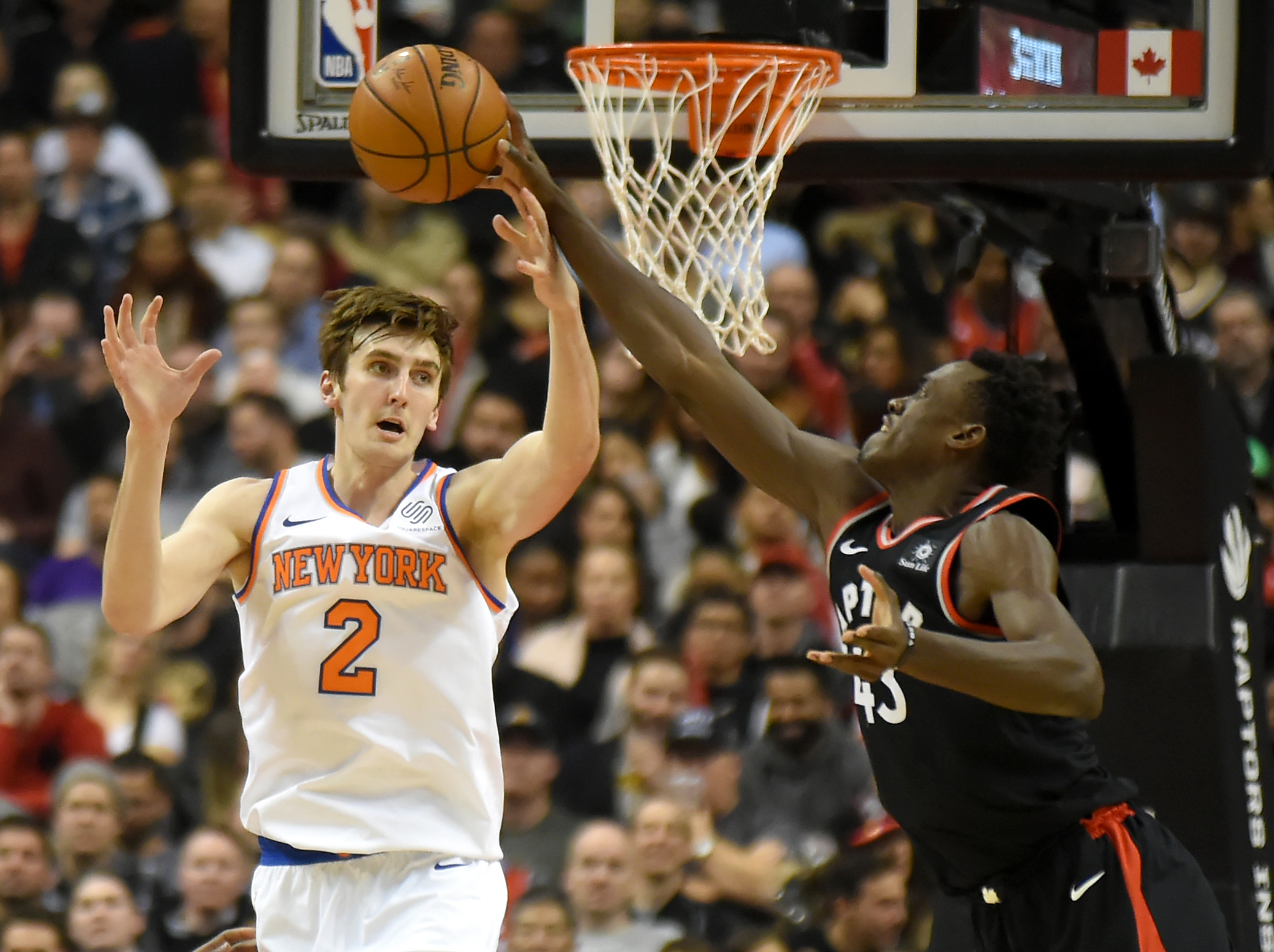 Luke Kornet Shines Despite Knicks' Blowout Loss In NBA Debut