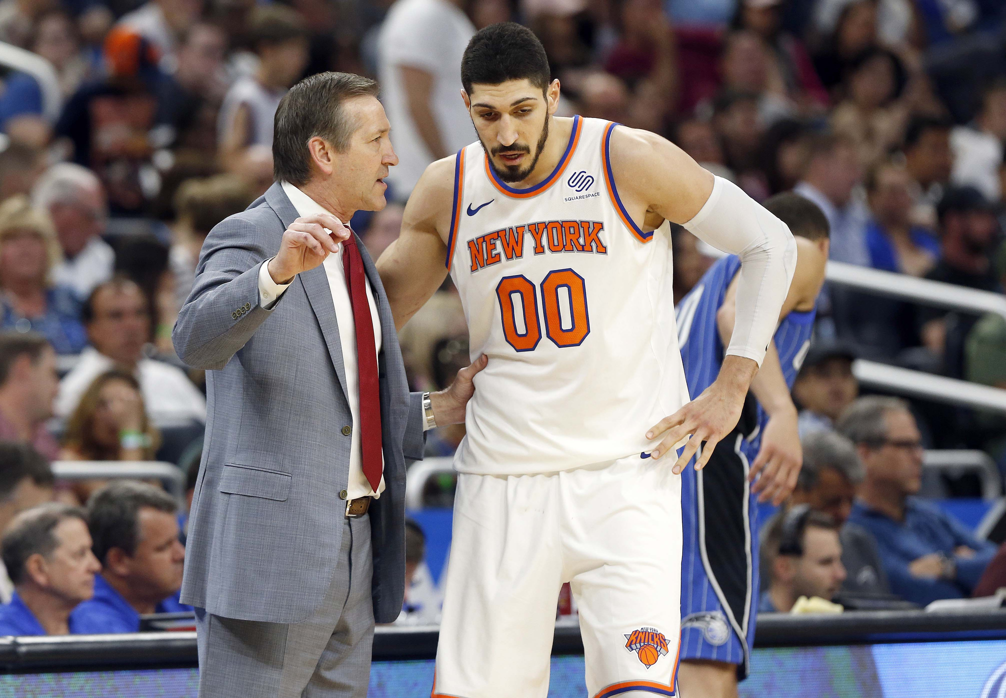 Knicks fire head coach Jeff Hornacek and assistant Kurt Rambis