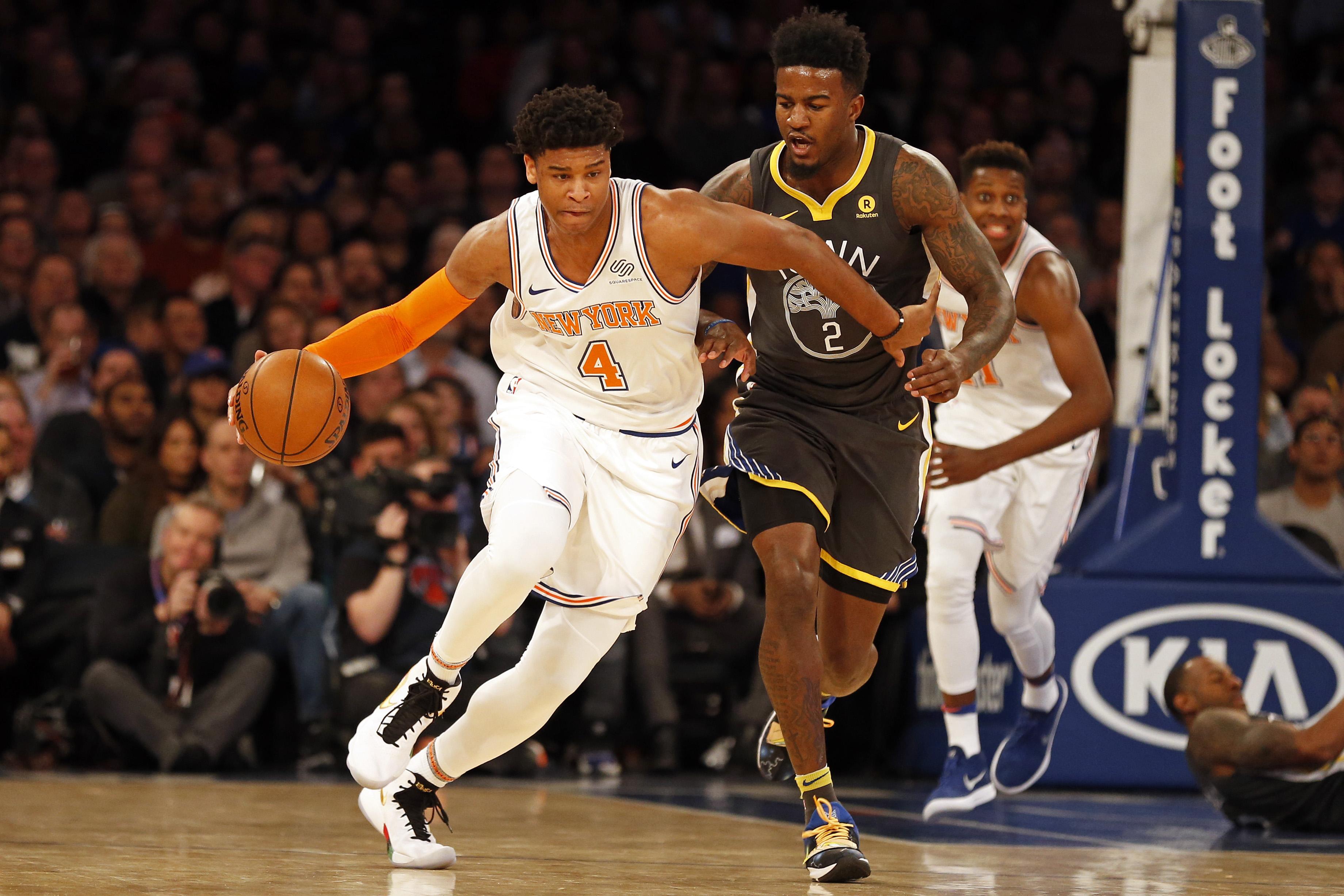 Isaiah Hicks' Big Night Helps Westchester Knicks Clinch Postseason Berth