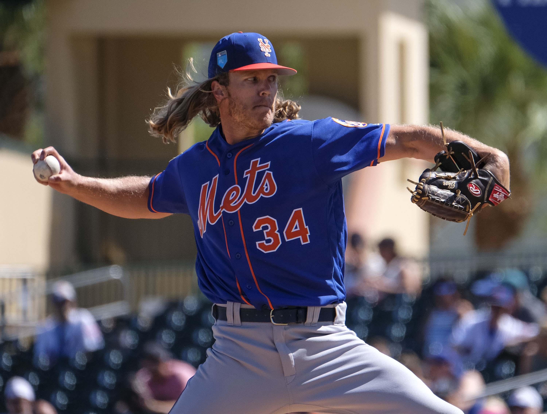 Noah Syndergaard Looks Sharp Again In New York Mets' 1-0 Loss