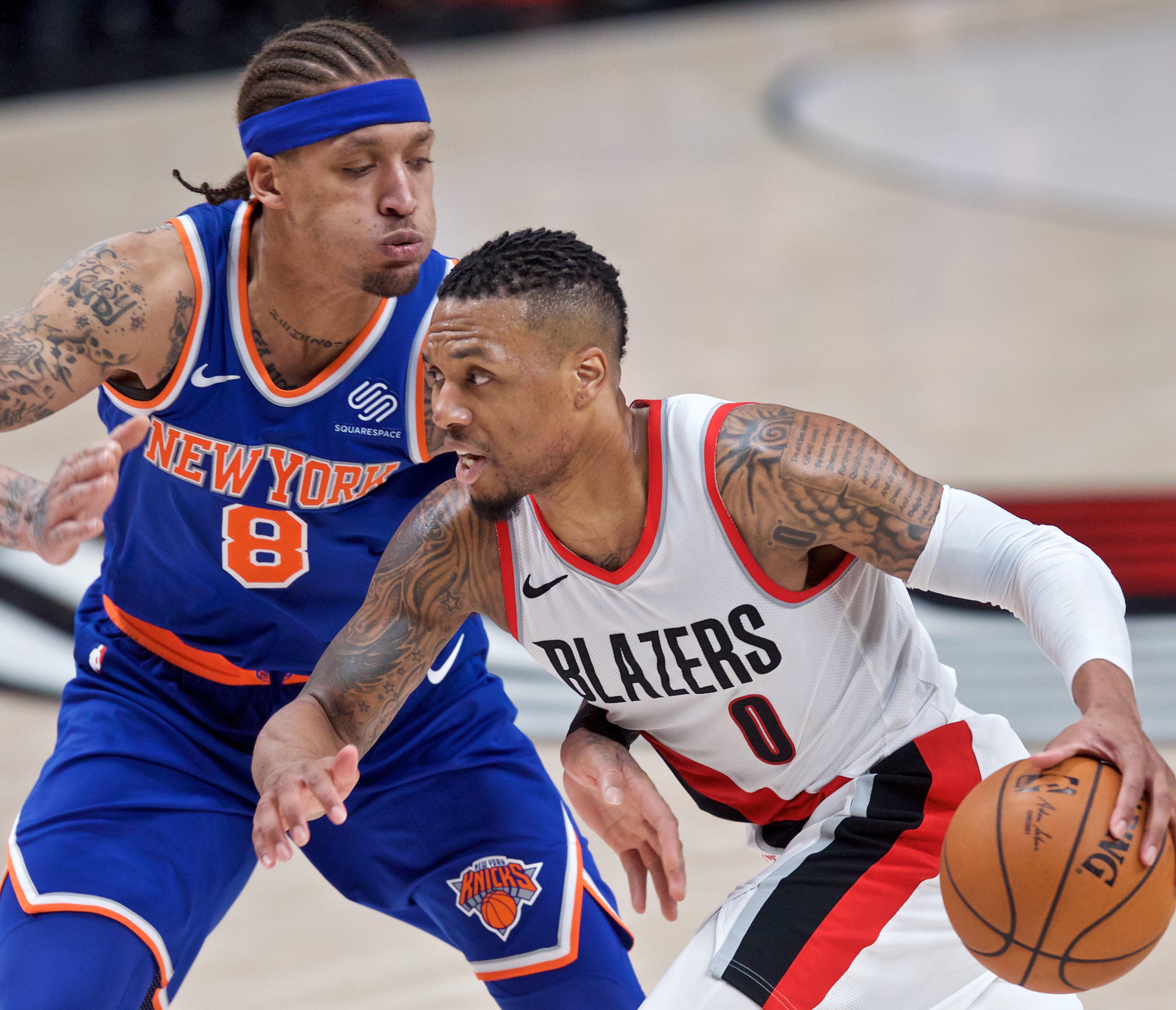 Damian Lillard pokes holes in Knicks' future hopes during latest loss