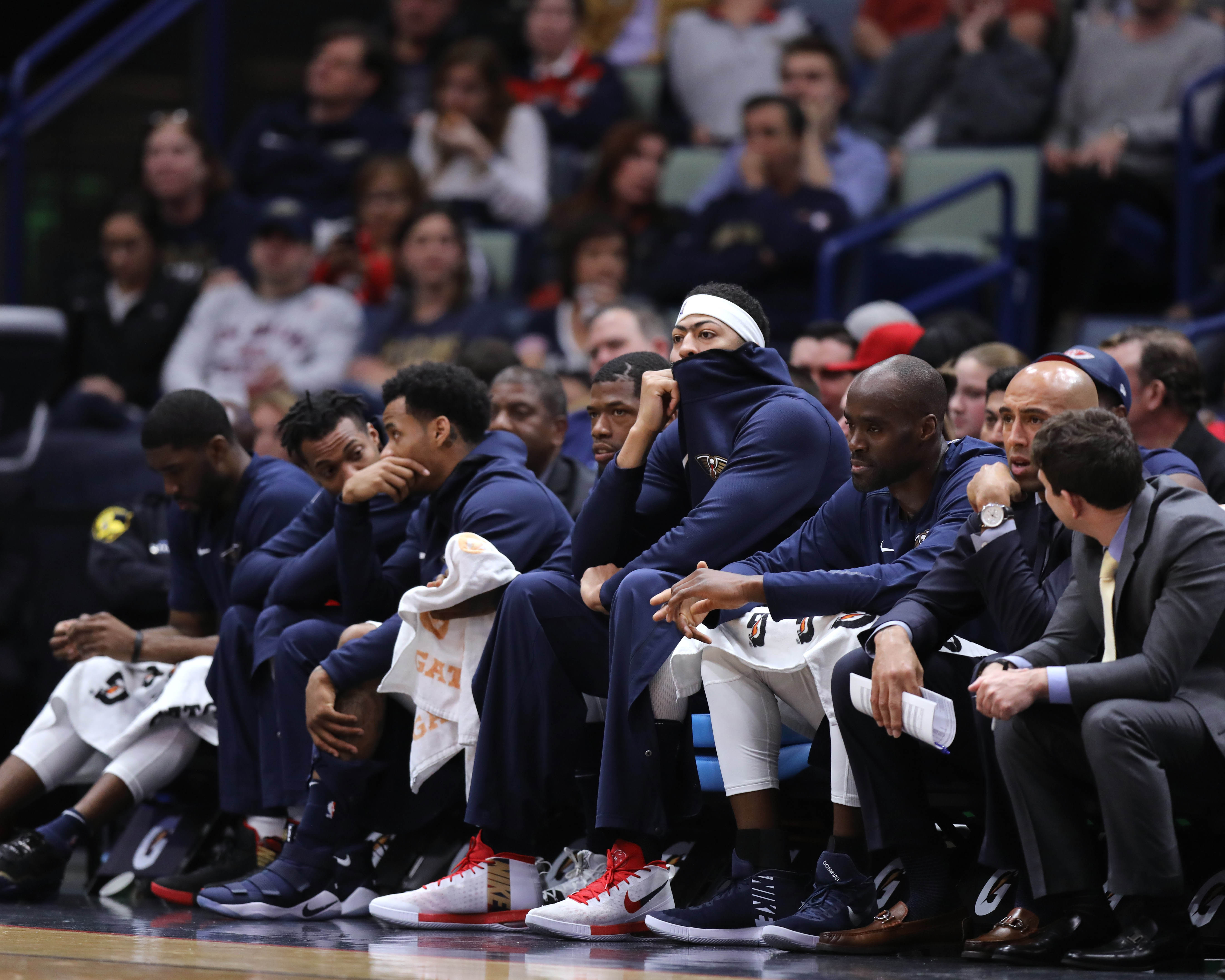Without AD The Wizards Made The Pelicans Win Streak Disappear 116-97