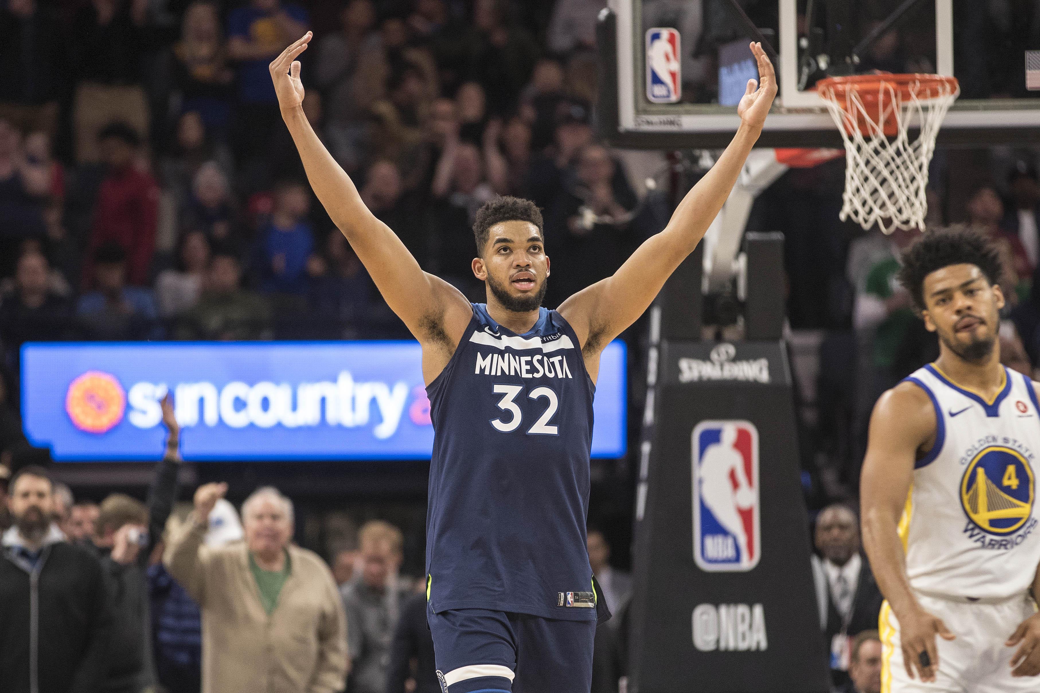 Timberwolves Defeat The Warriors 109-103: Fan Reactions