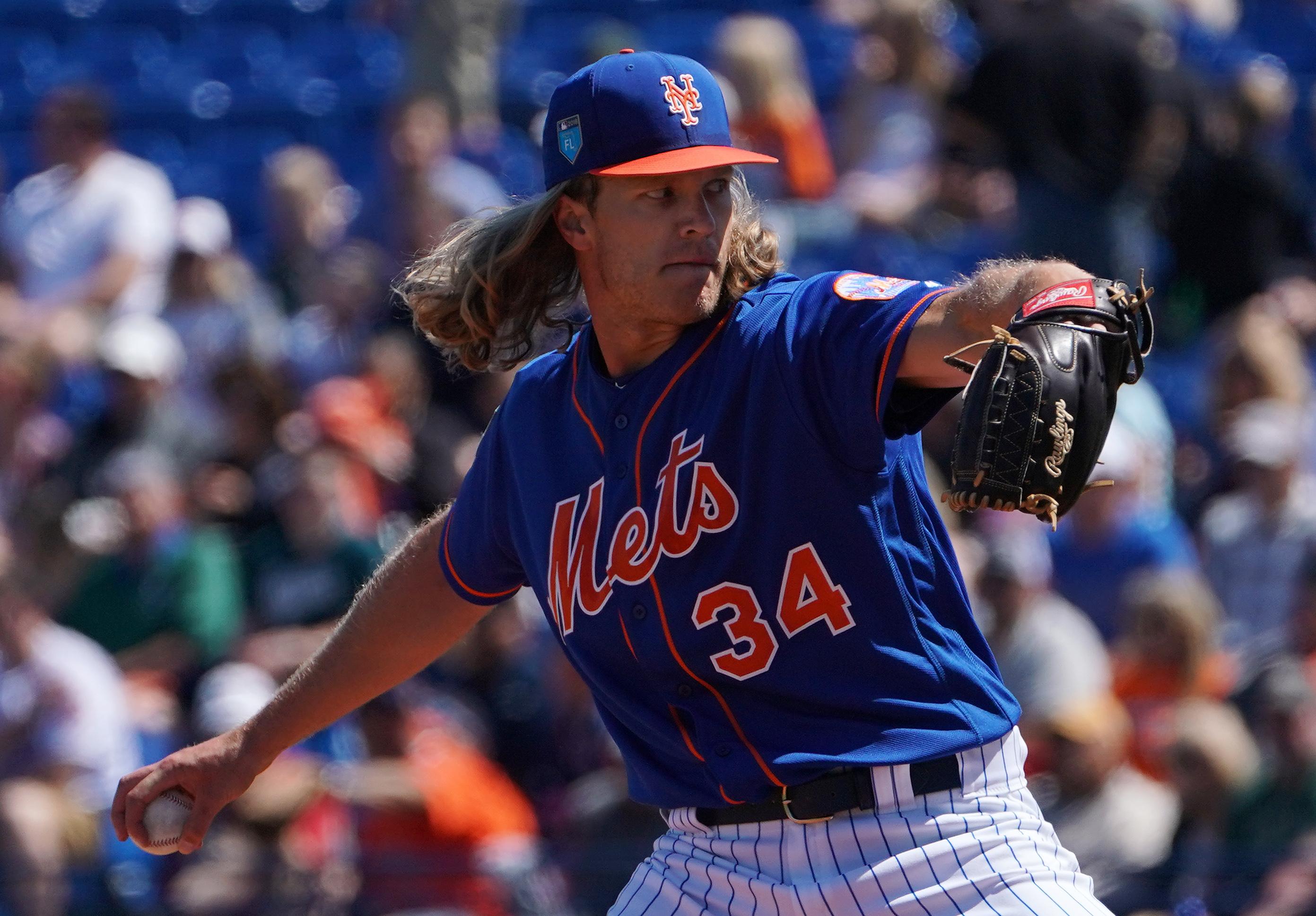 Noah Syndergaard Goes Seven Strong In New York Mets' Win