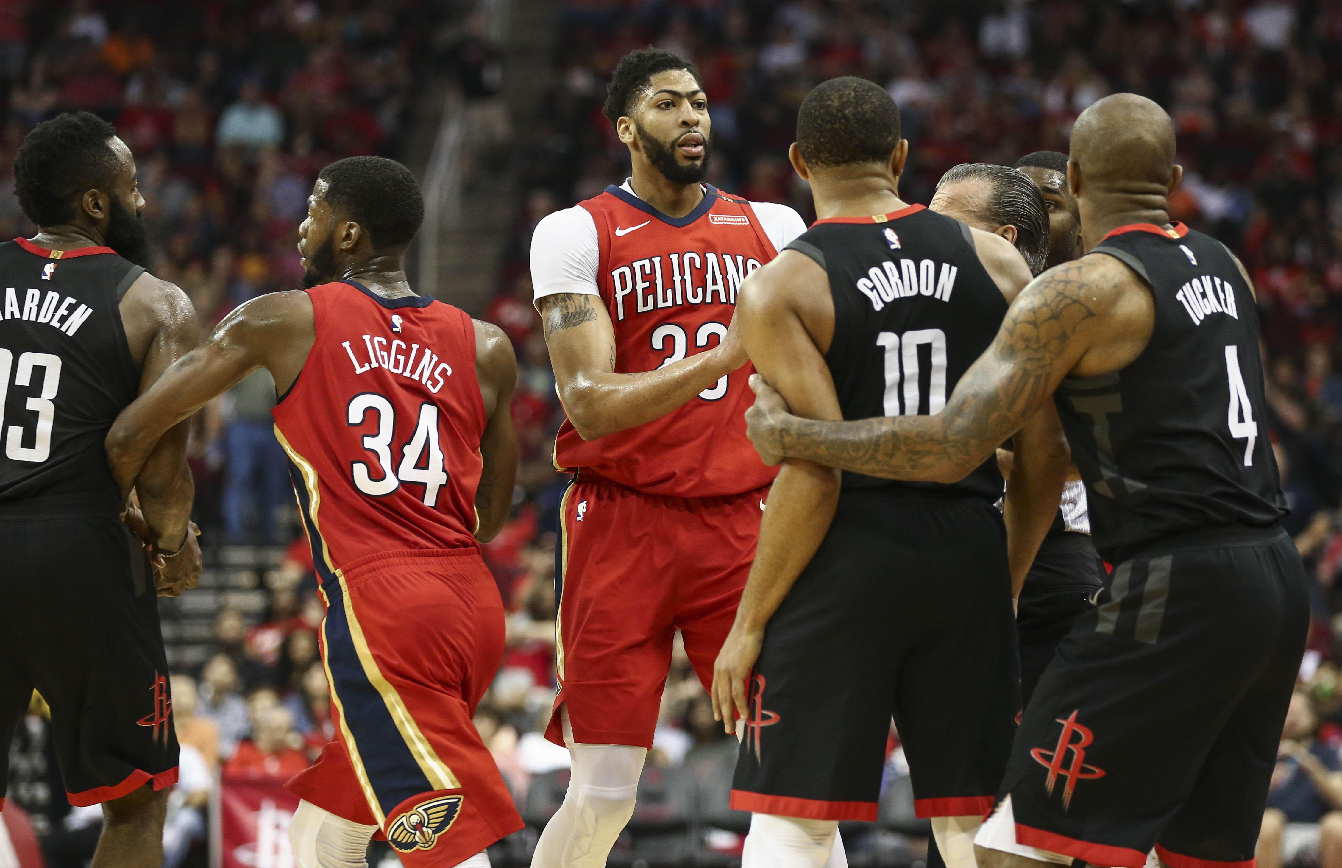 Houston Spanks Shorthanded Pelicans 114-91