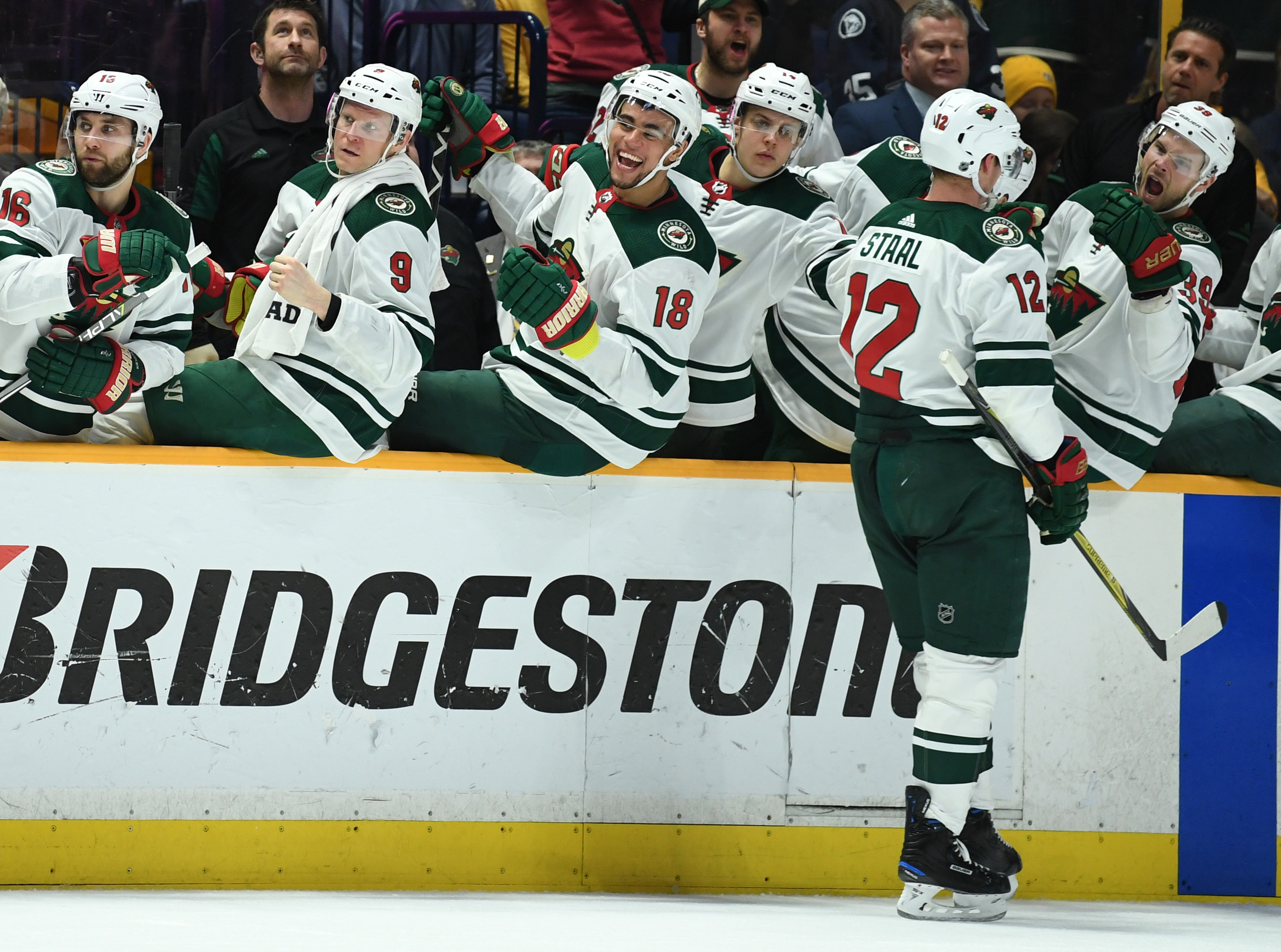 Wild Earn Valuable Point in 2-1 Shootout Loss to Nashville