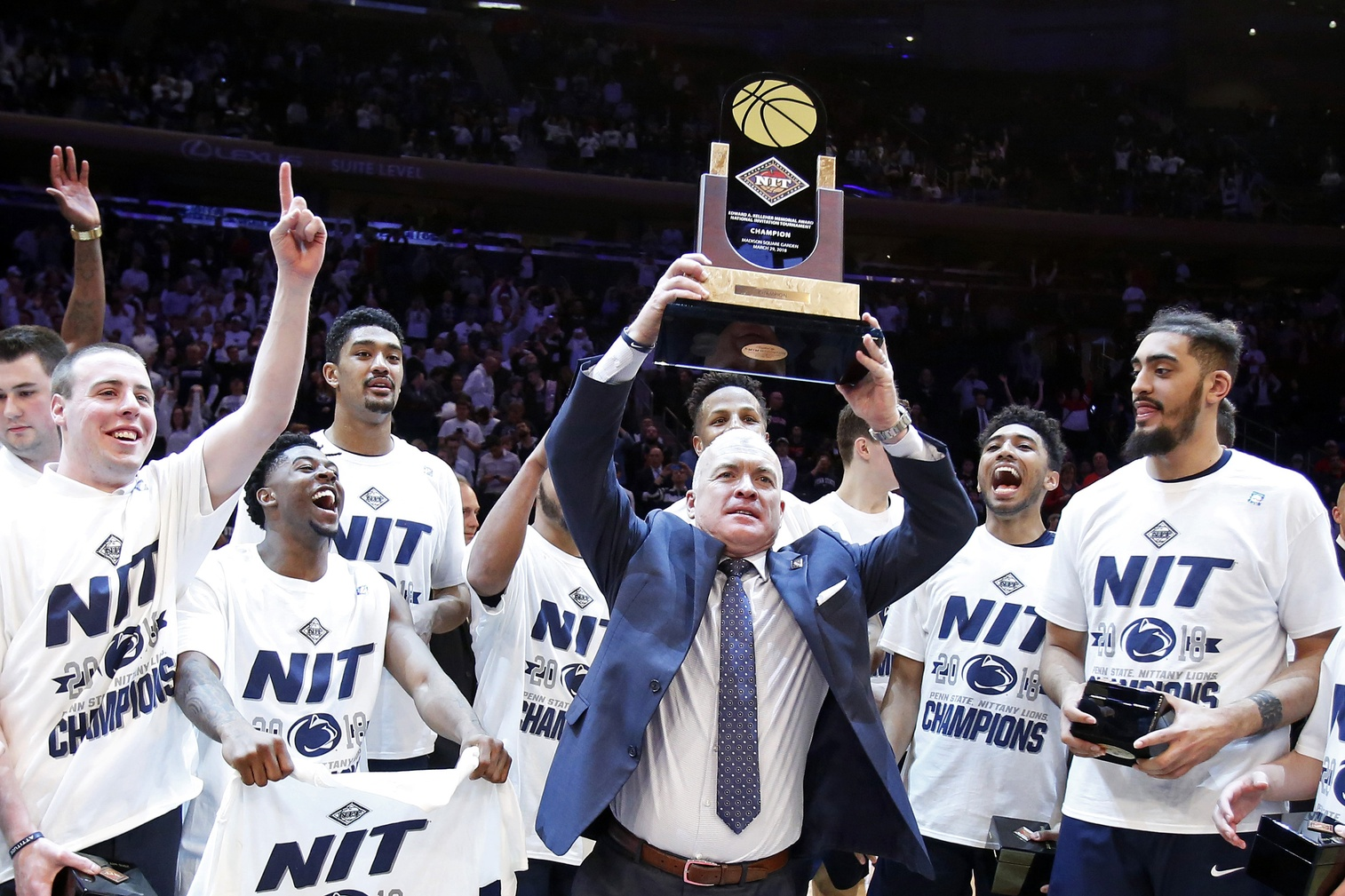 Pat Chambers coached Penn State to the NIT championship. Now it's time to take the next step forward.