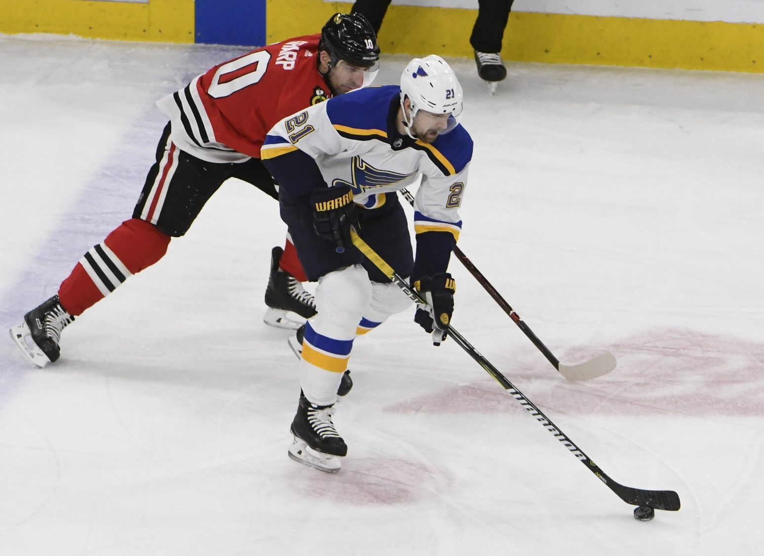 Patrik Berglund has been kind of awesome since he was a healthy scratch
