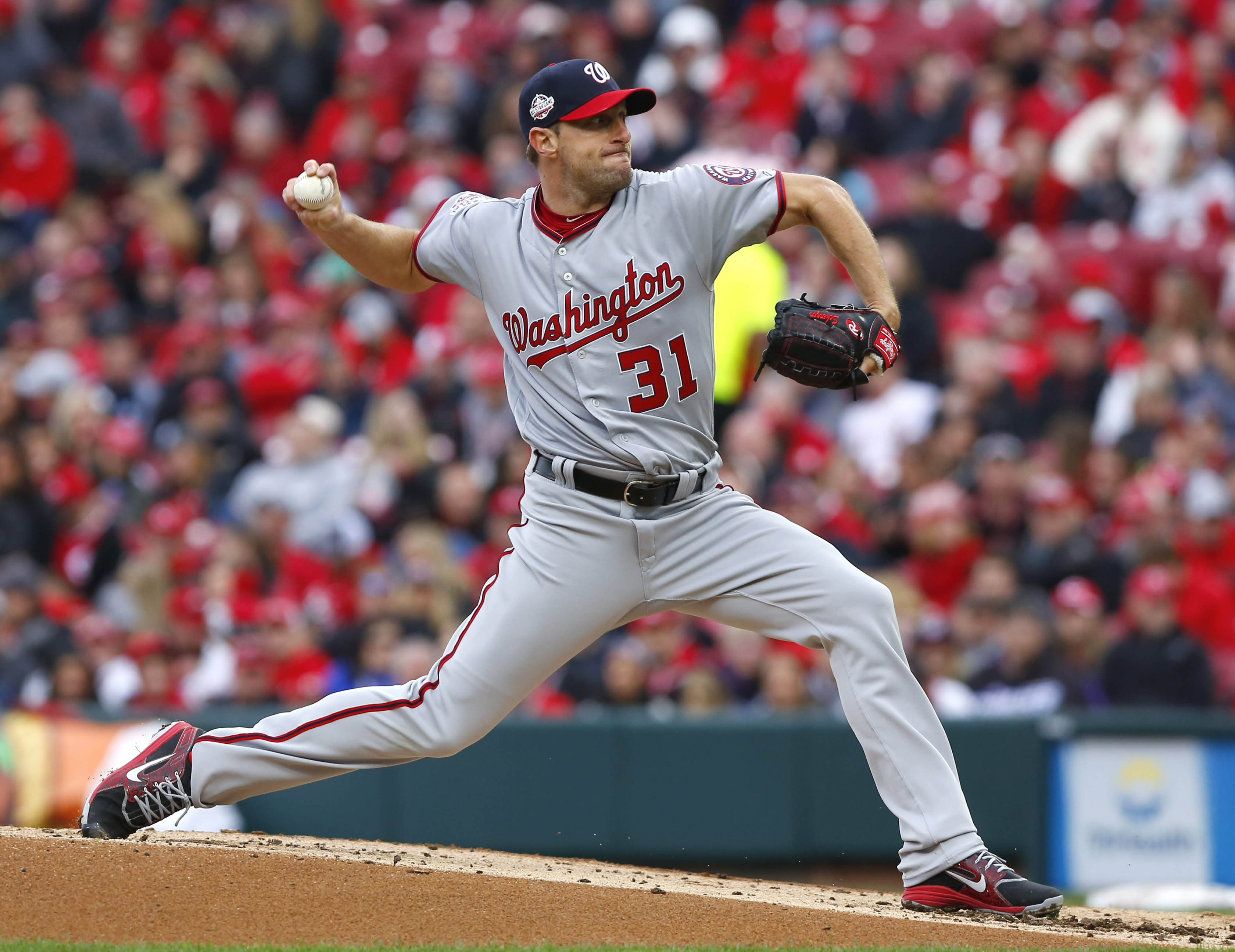 Max Scherzer Is Already Feeling Right at Home