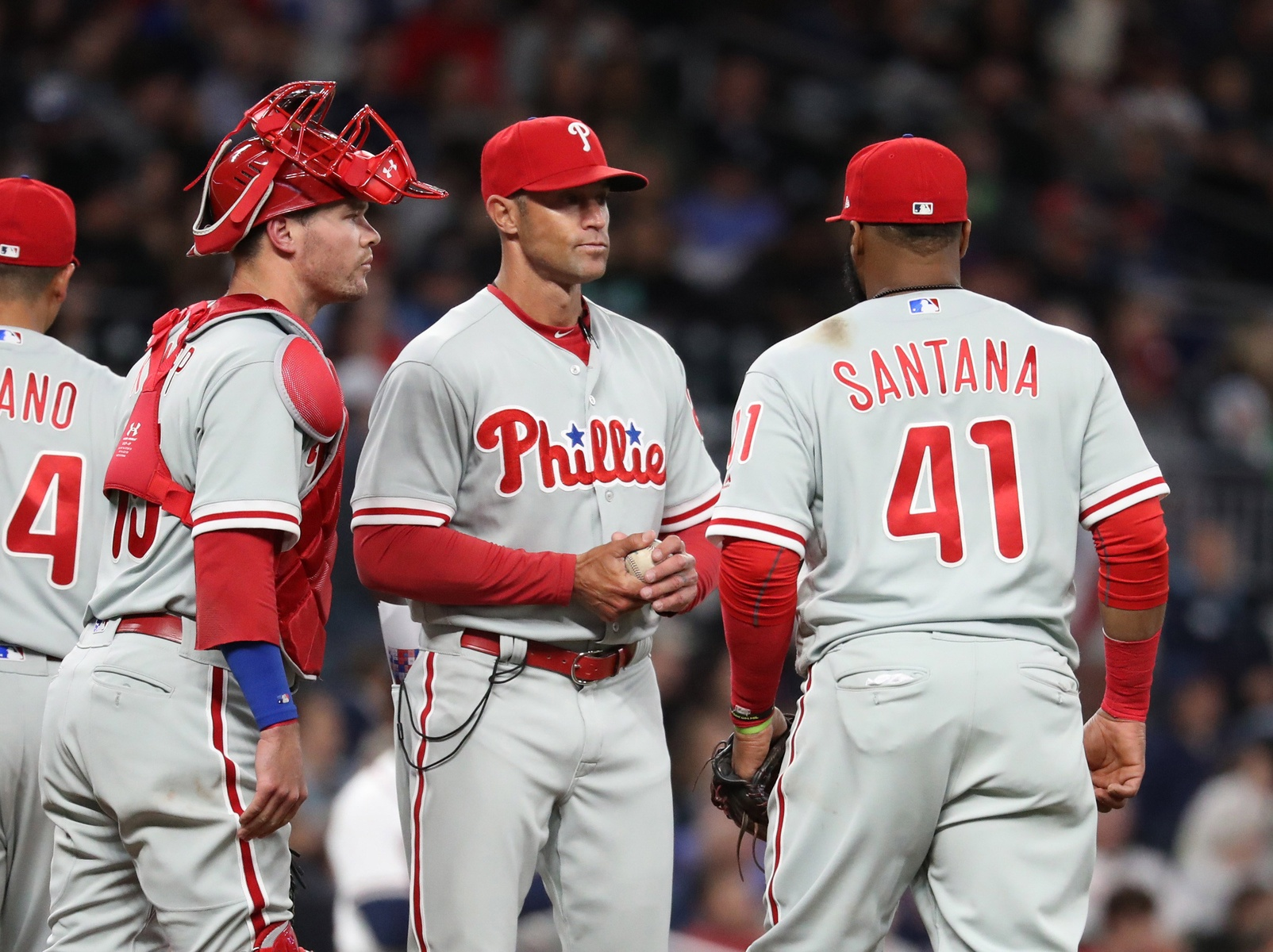 Gabe Kapler standing by his early questionable managing decisions