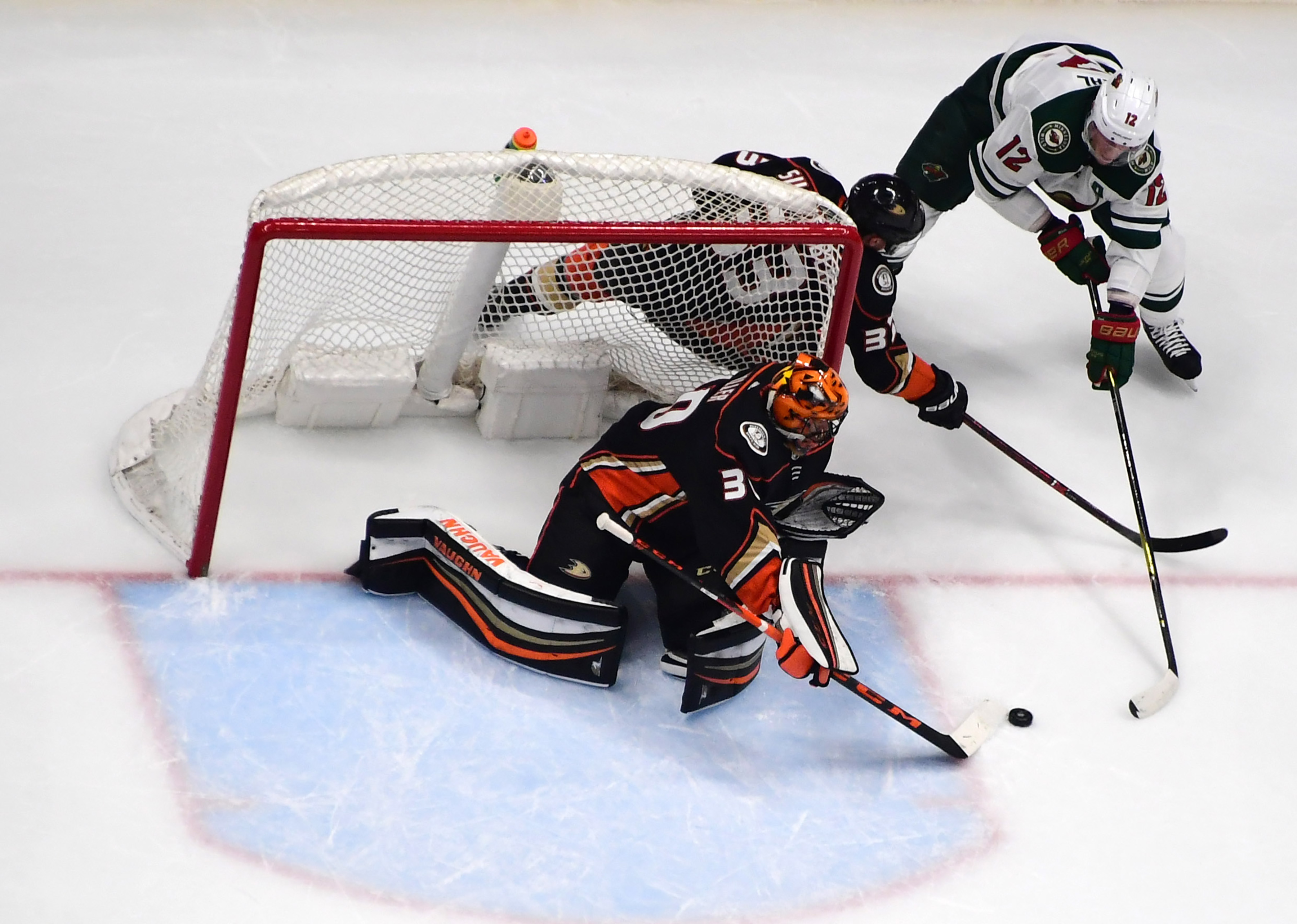 Conservative Play in 3rd Period Dooms Wild in 3-1 Loss to Anaheim