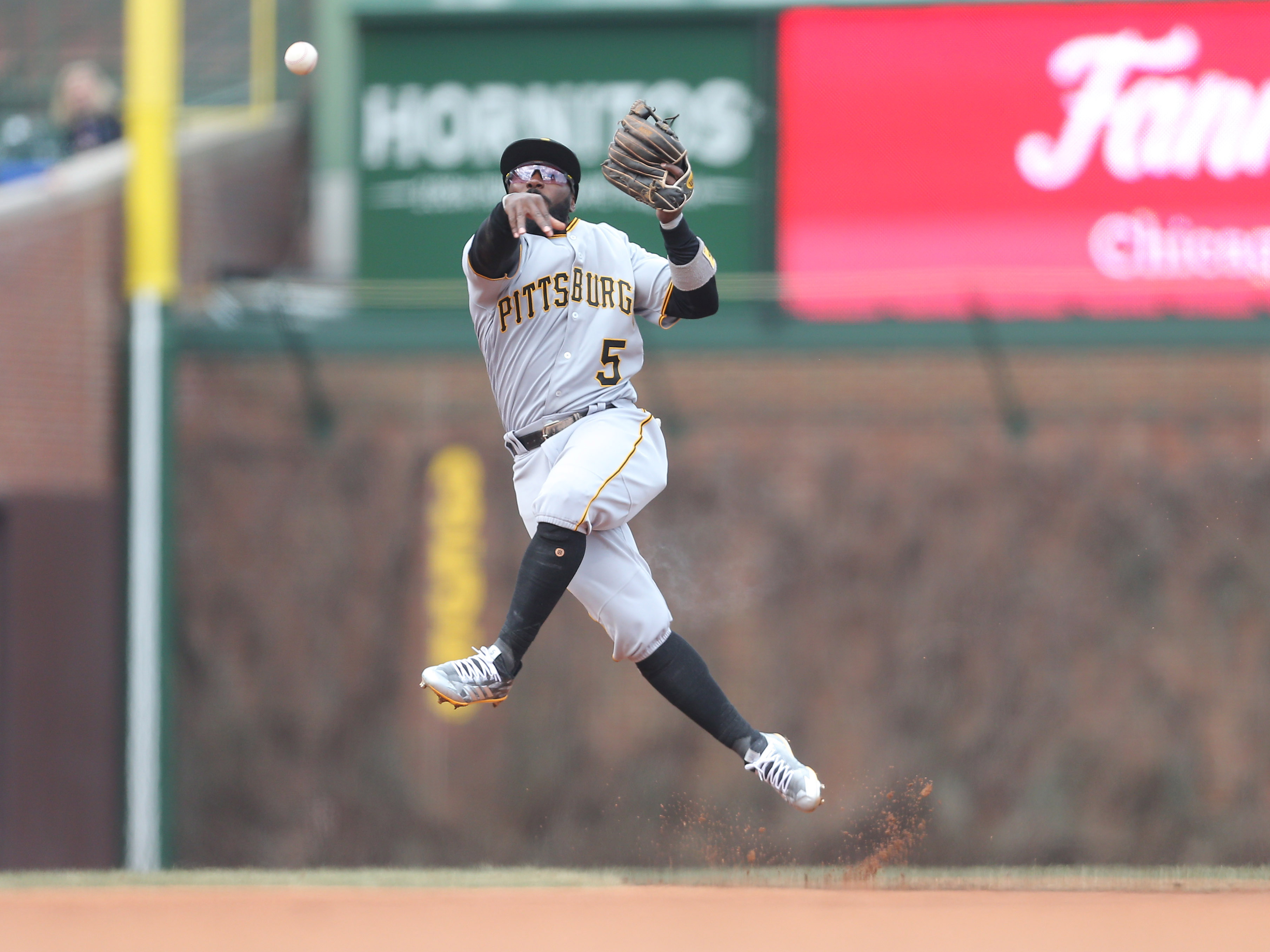 Pittsburgh Pirates will lose Josh Harrison for at least six weeks