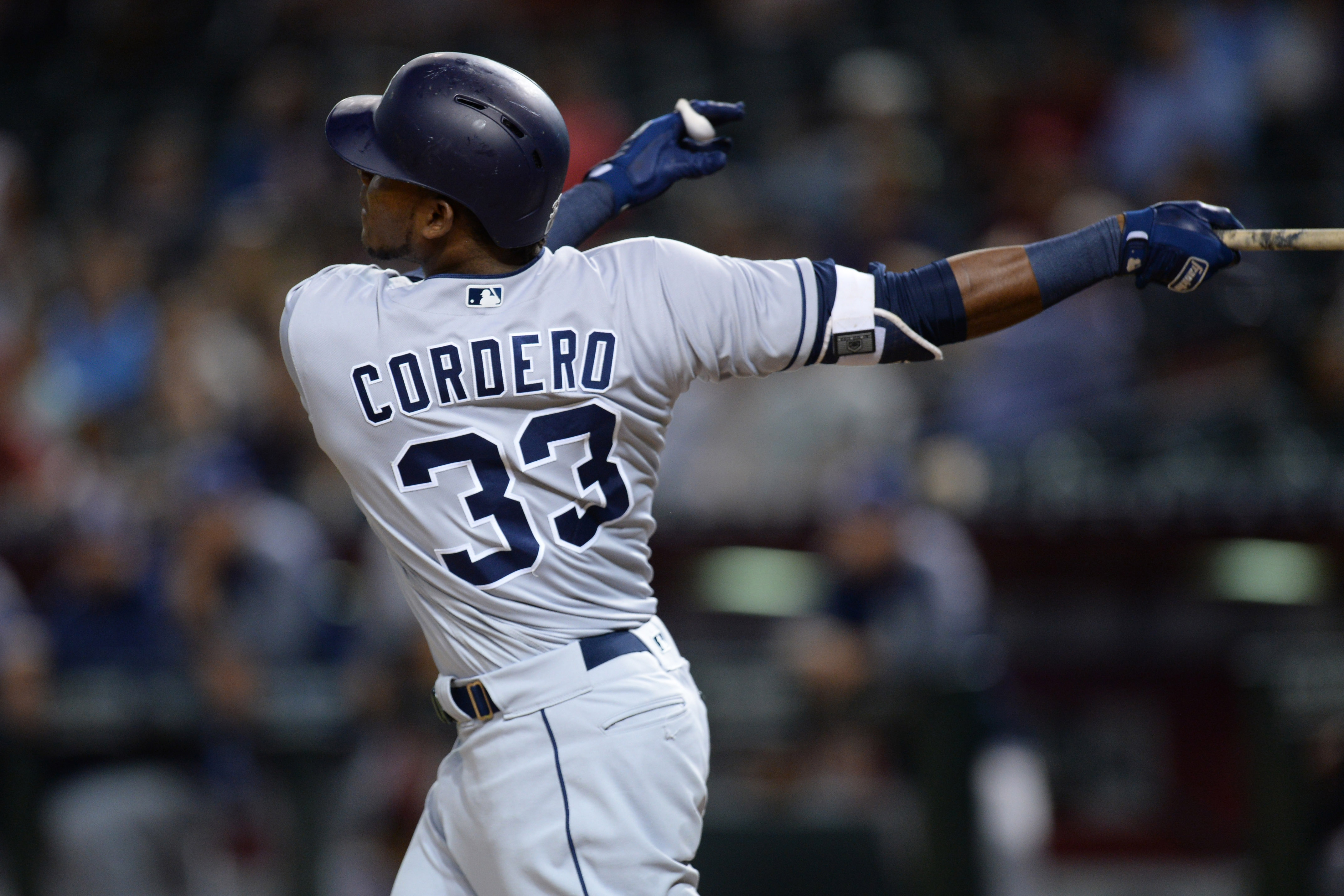 Franchy Cordero hits longest home run in Padres history