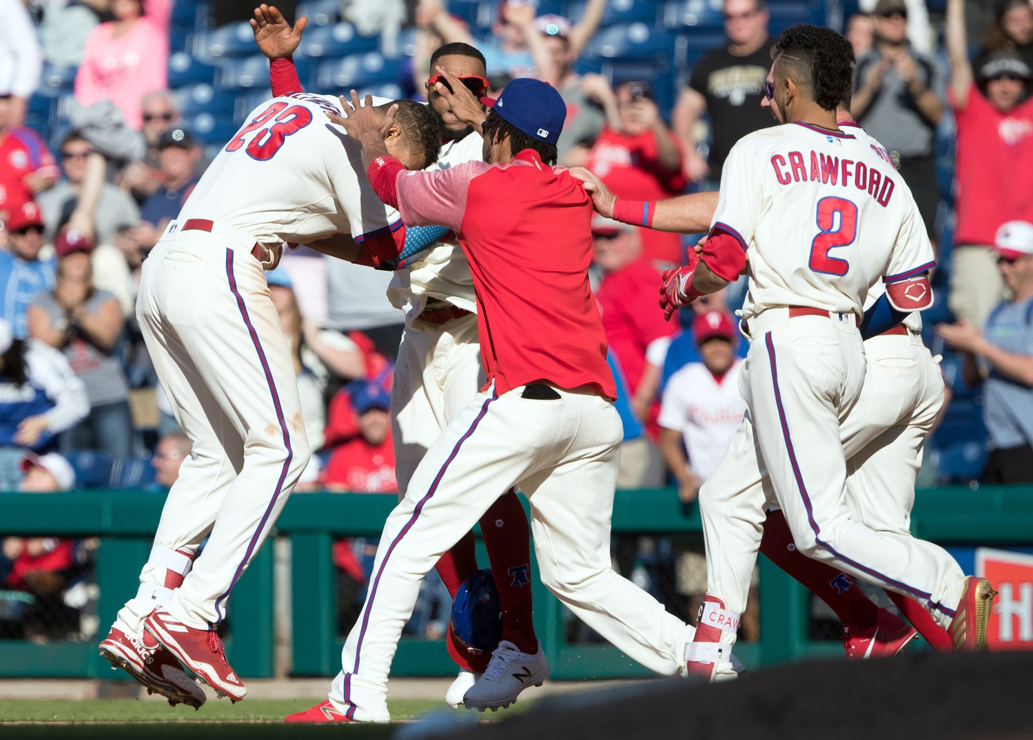 Betting the Phillies against the spread has been risky early on