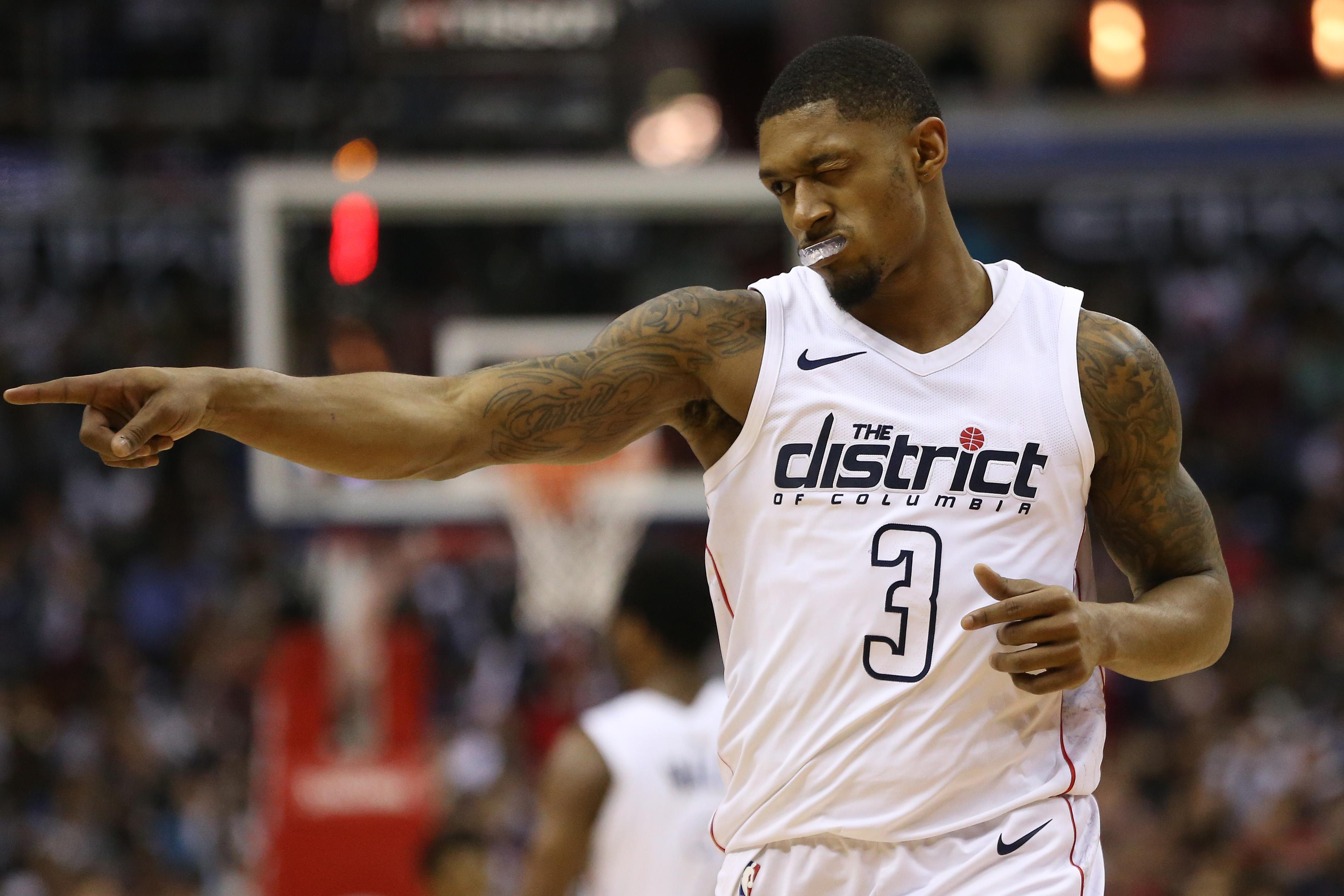 John Wall Has Bradley Beal's Back In Wizards' Game 4 Win Over Raptors