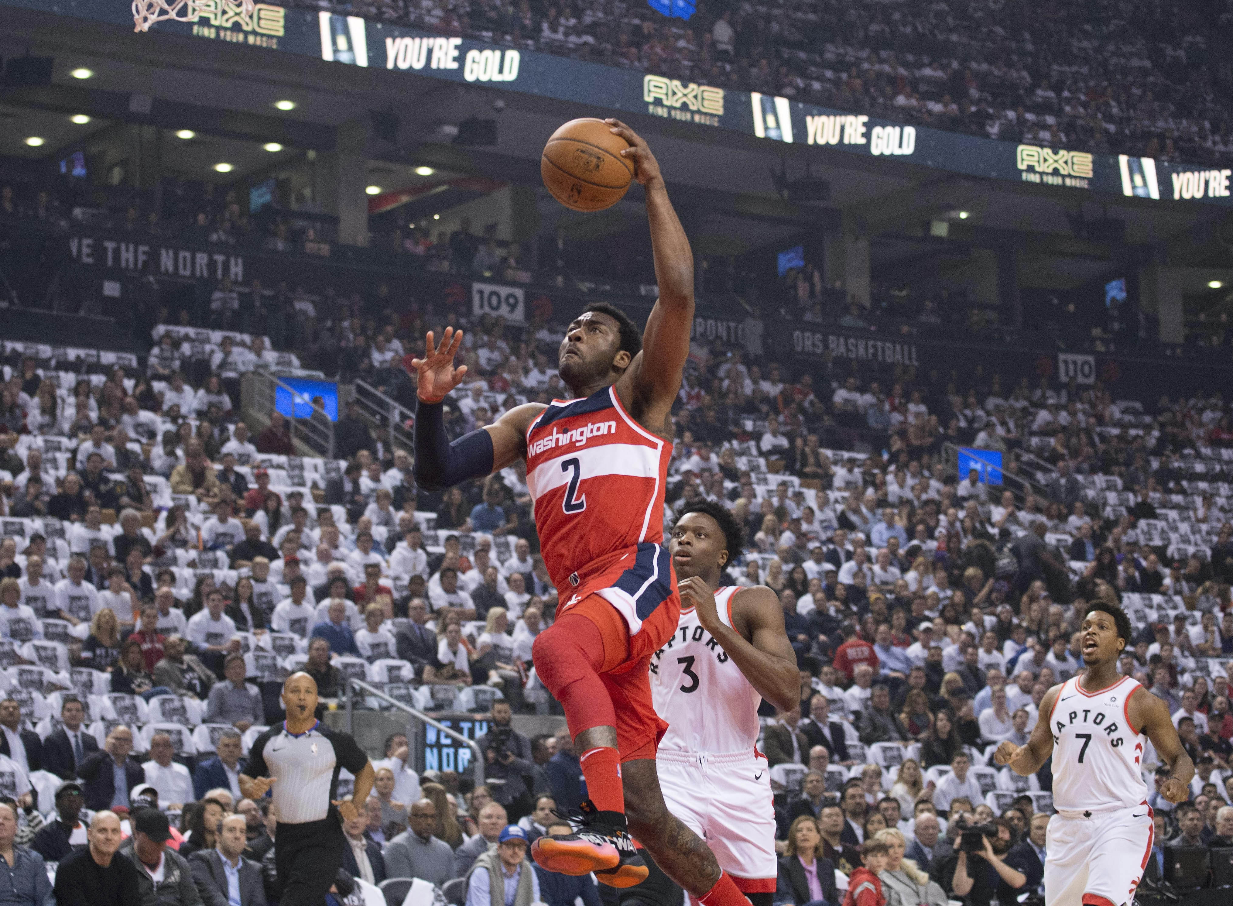 Wizards Face Elimination Against Raptors In The District