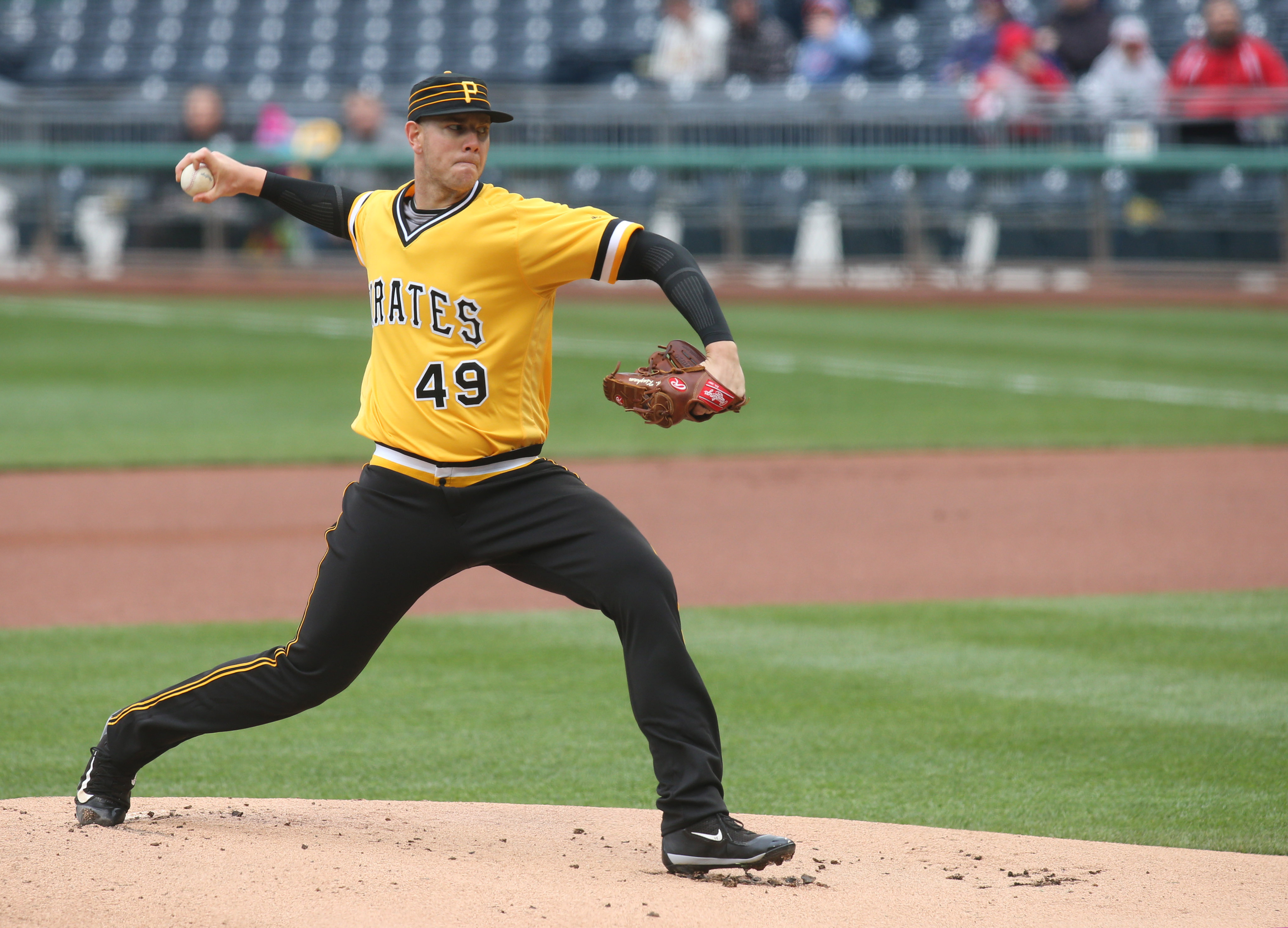Nick Kingham has a chance to impress the Pittsburgh Pirates on Sunday