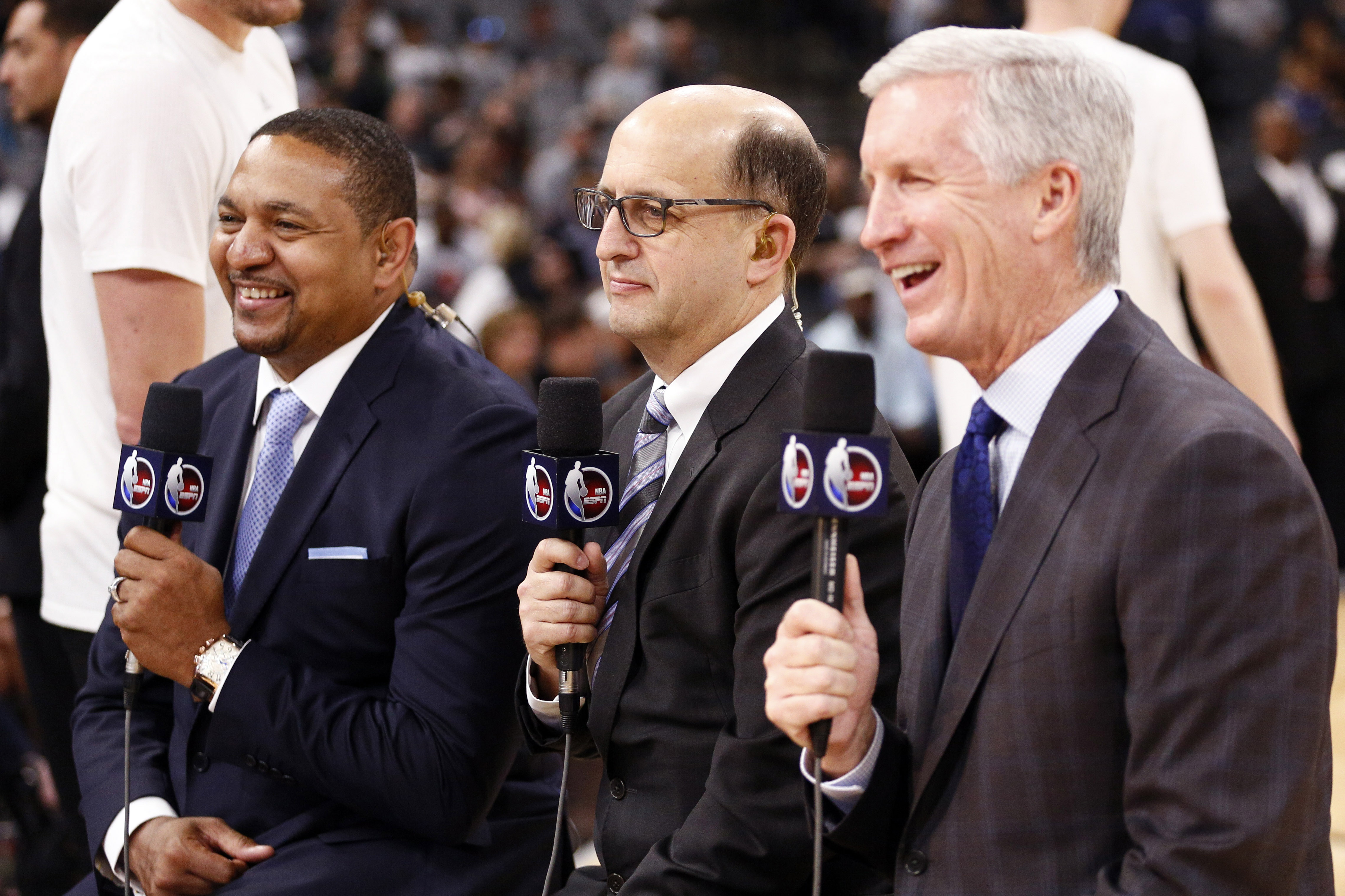 Jeff Van Gundy, Mark Jackson talk coaching openings as Knicks reach out