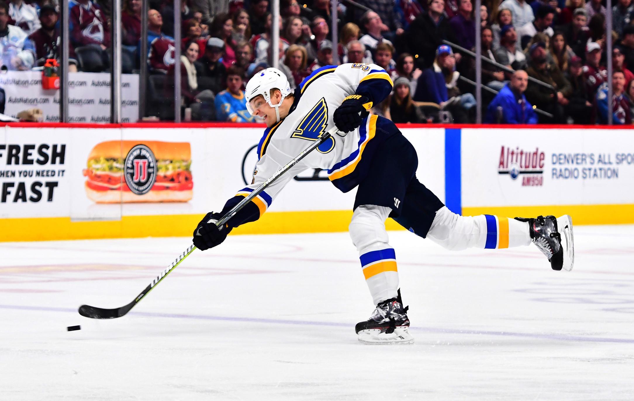 Colton Parayko had the hardest shot at the 2018 IIHF Ice Hockey World Championship