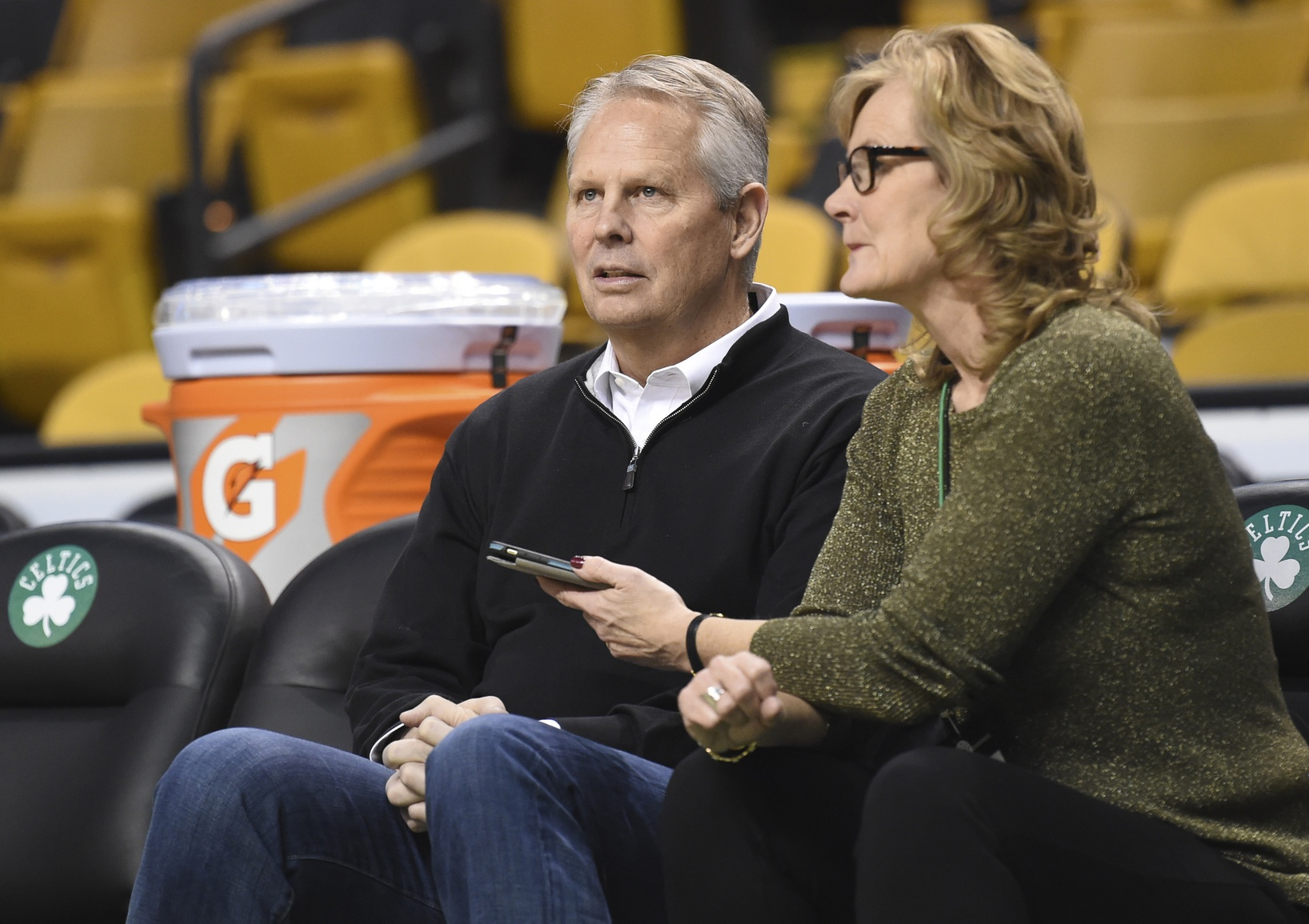 Danny Ainge is laughing at anyone who thinks Kyrie, Hayward are expendable