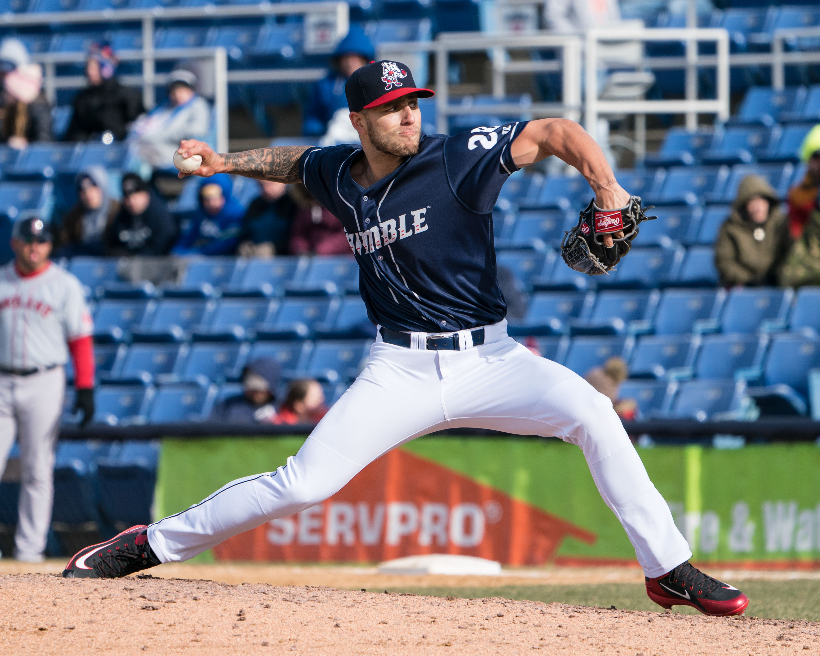 Minor League Mondays: Tyler Bashlor Coule Emerge As Bullpen Factor In The Future