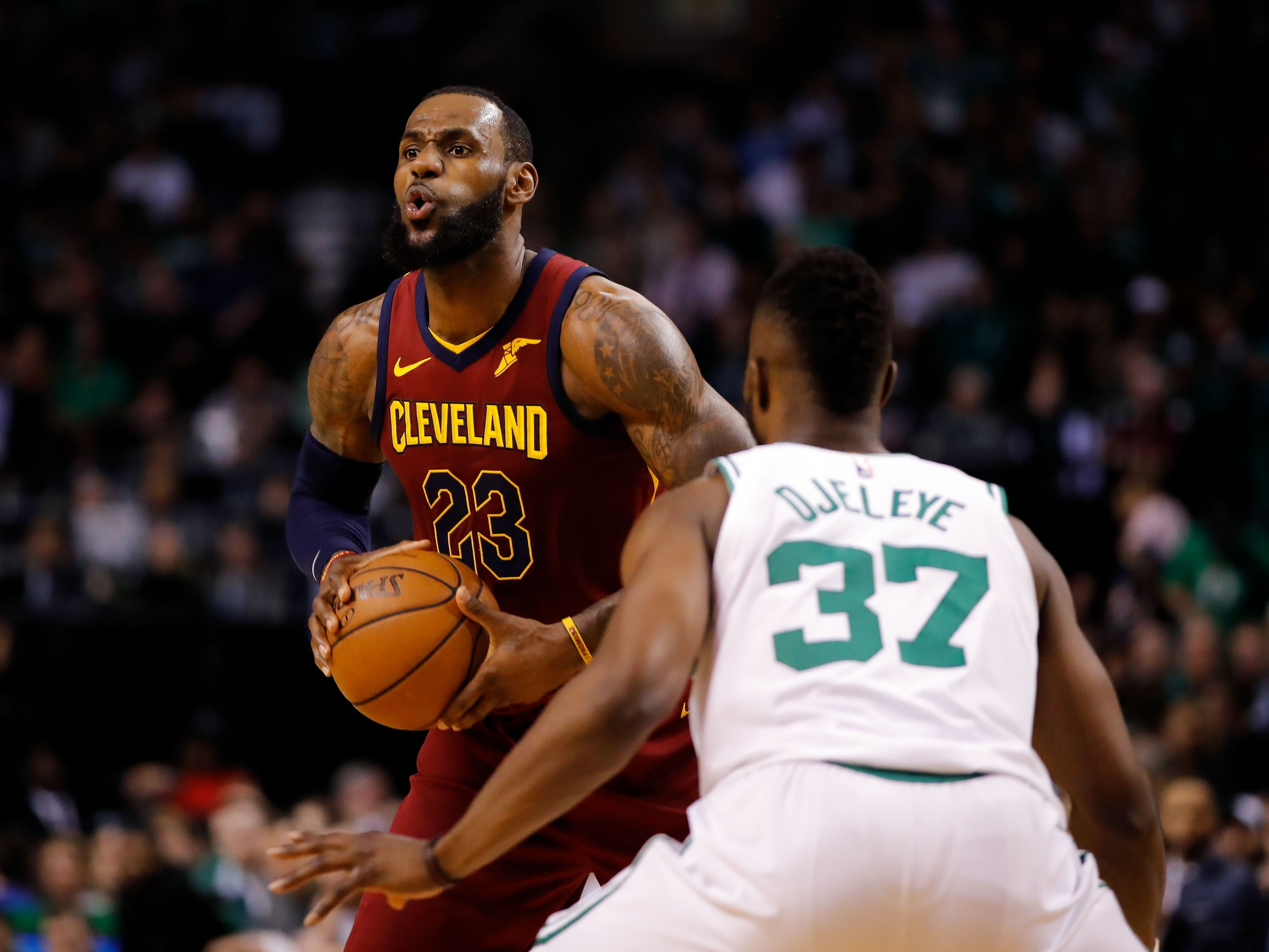 Semi Ojeleye may have finished off the Cavaliers