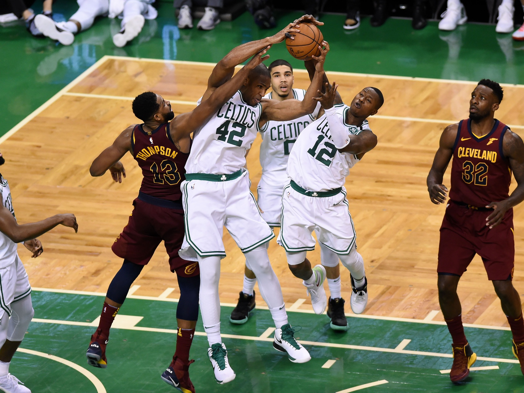 Terry Rozier is ready to challenge Kyrie Irving... from the bench