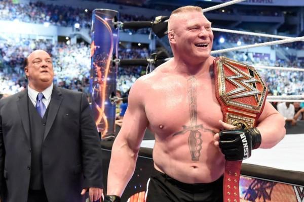 Brock Lesnar And Paul Heyman Reunite On WWE 'Monday Night Raw'