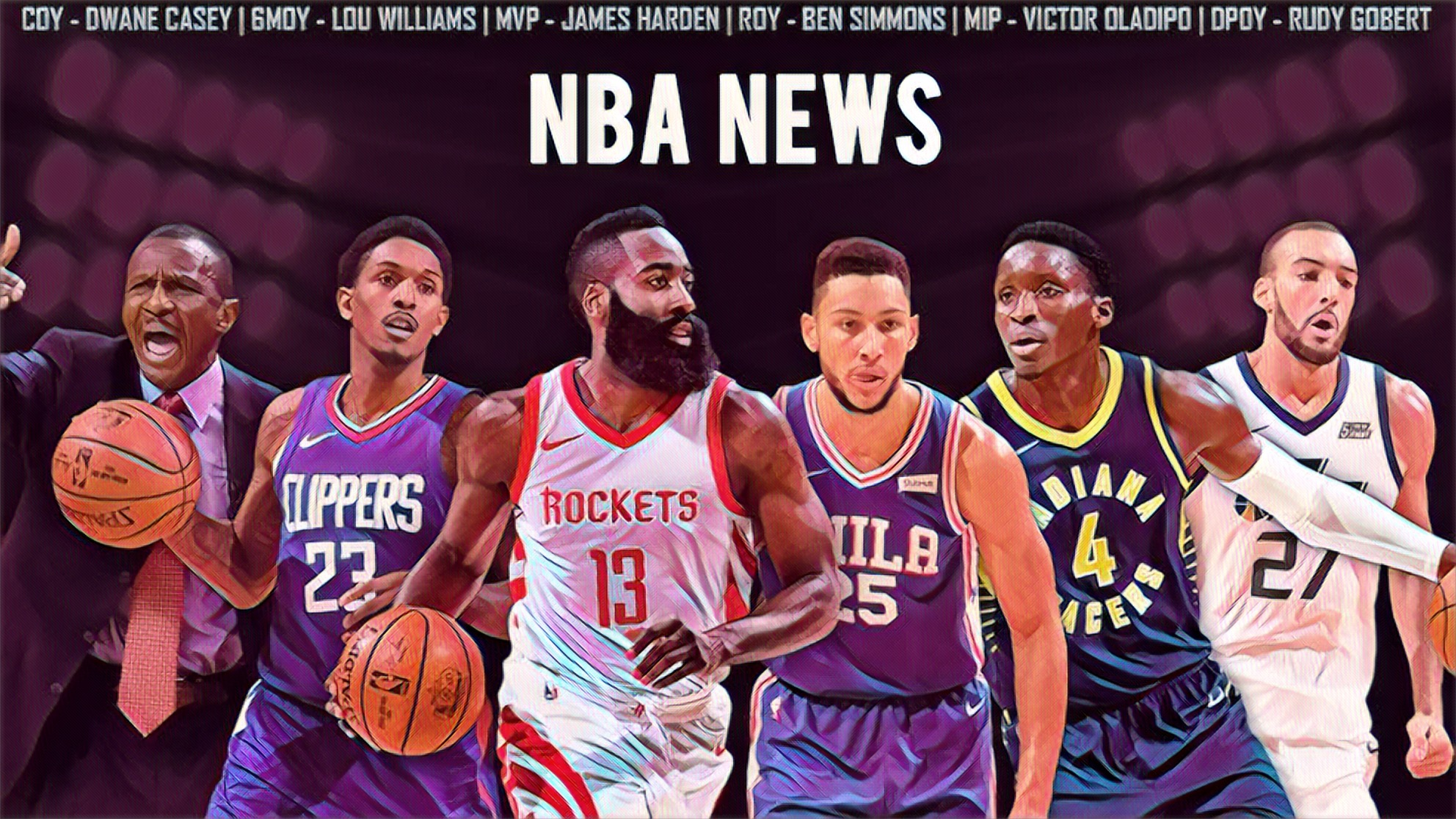 NBA Trades, Free Agency Rumors and NBA Awards