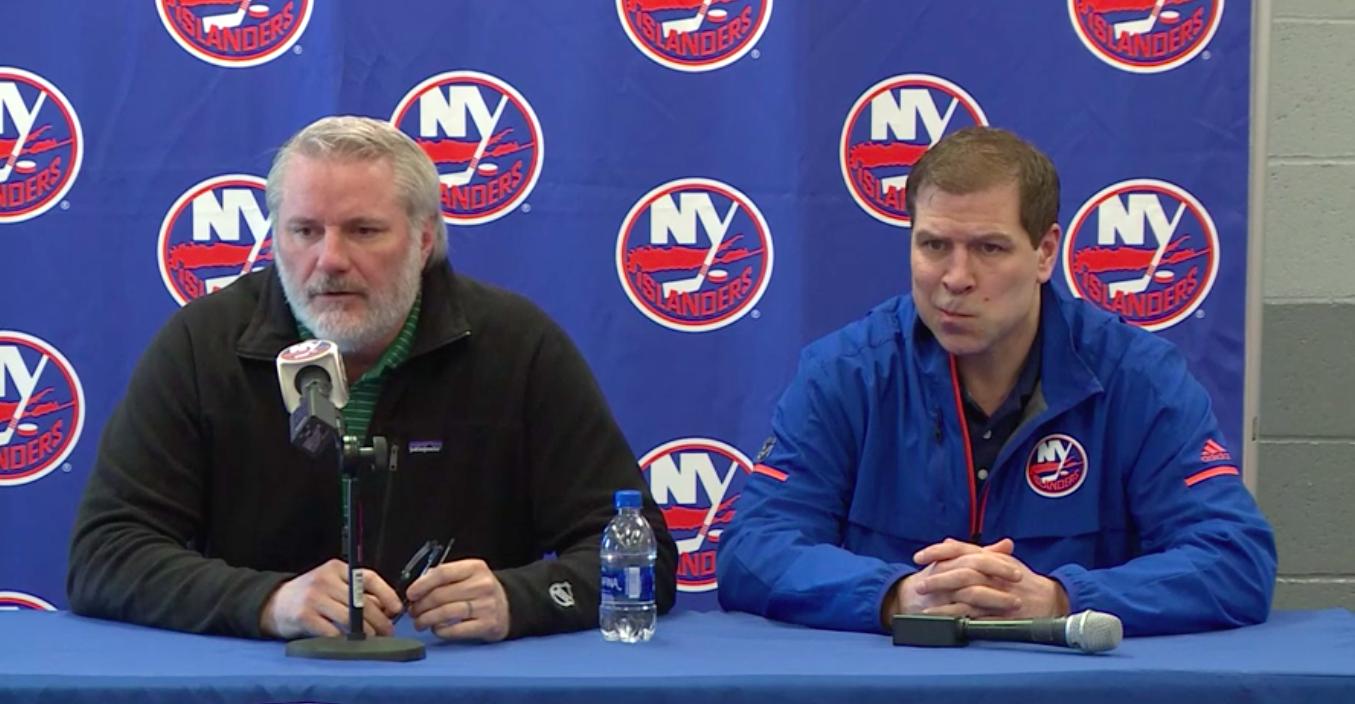 Islanders fire GM Garth Snow, head coach Doug Weight