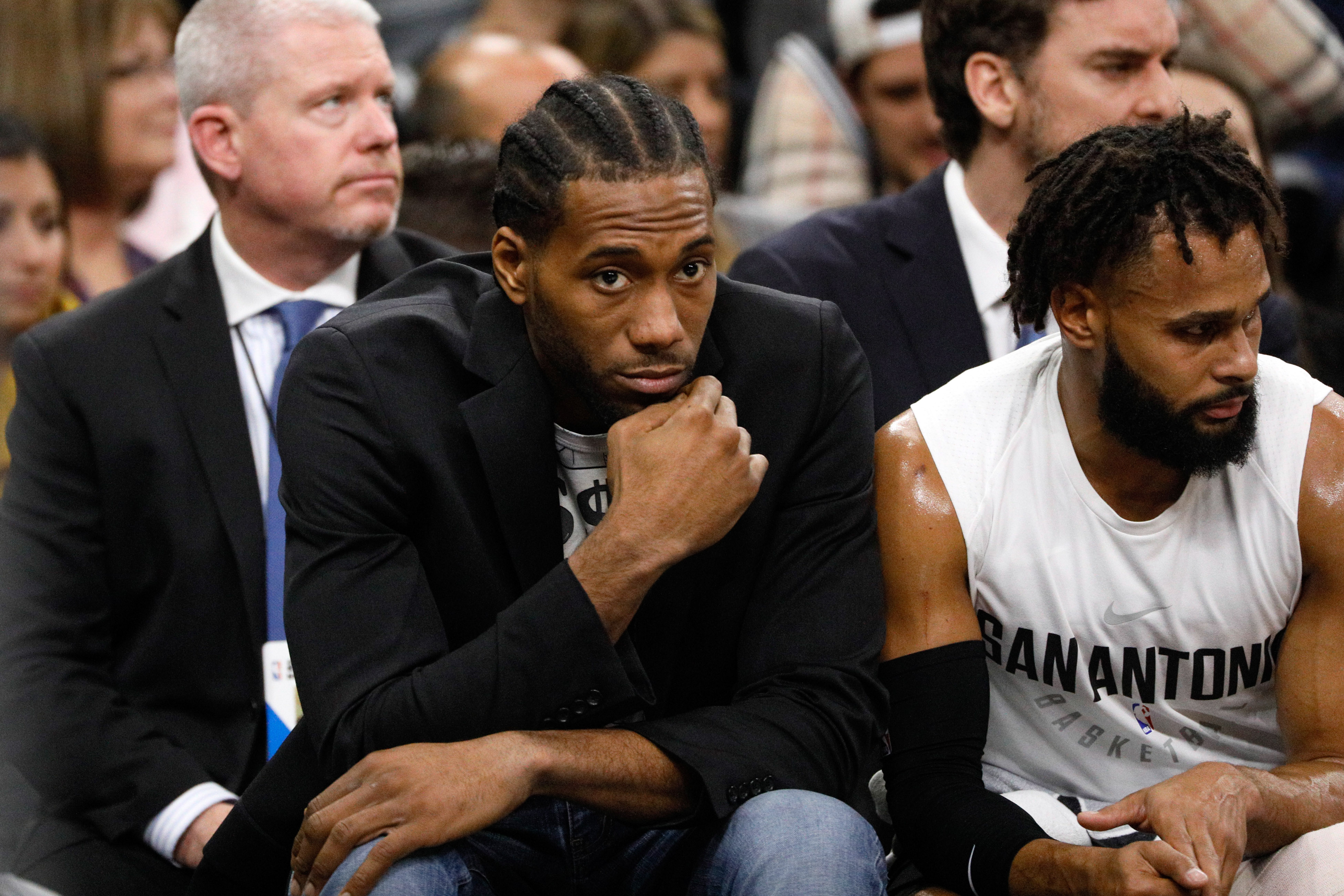 Report: Suns will explore trading the top pick for Kawhi Leonard