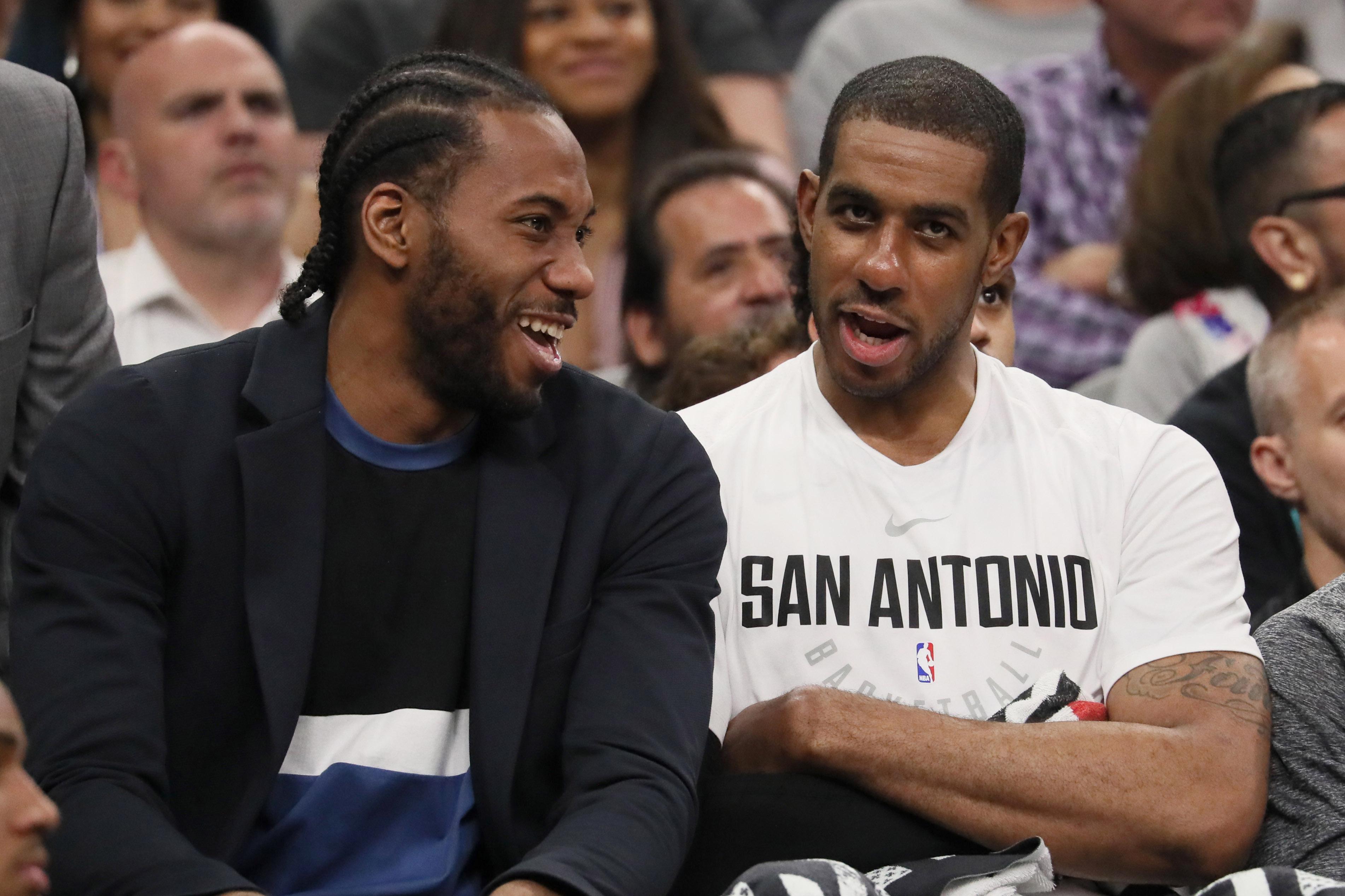 Report: Looks like Kawhi Leonard will remain in San Antonio, for now...
