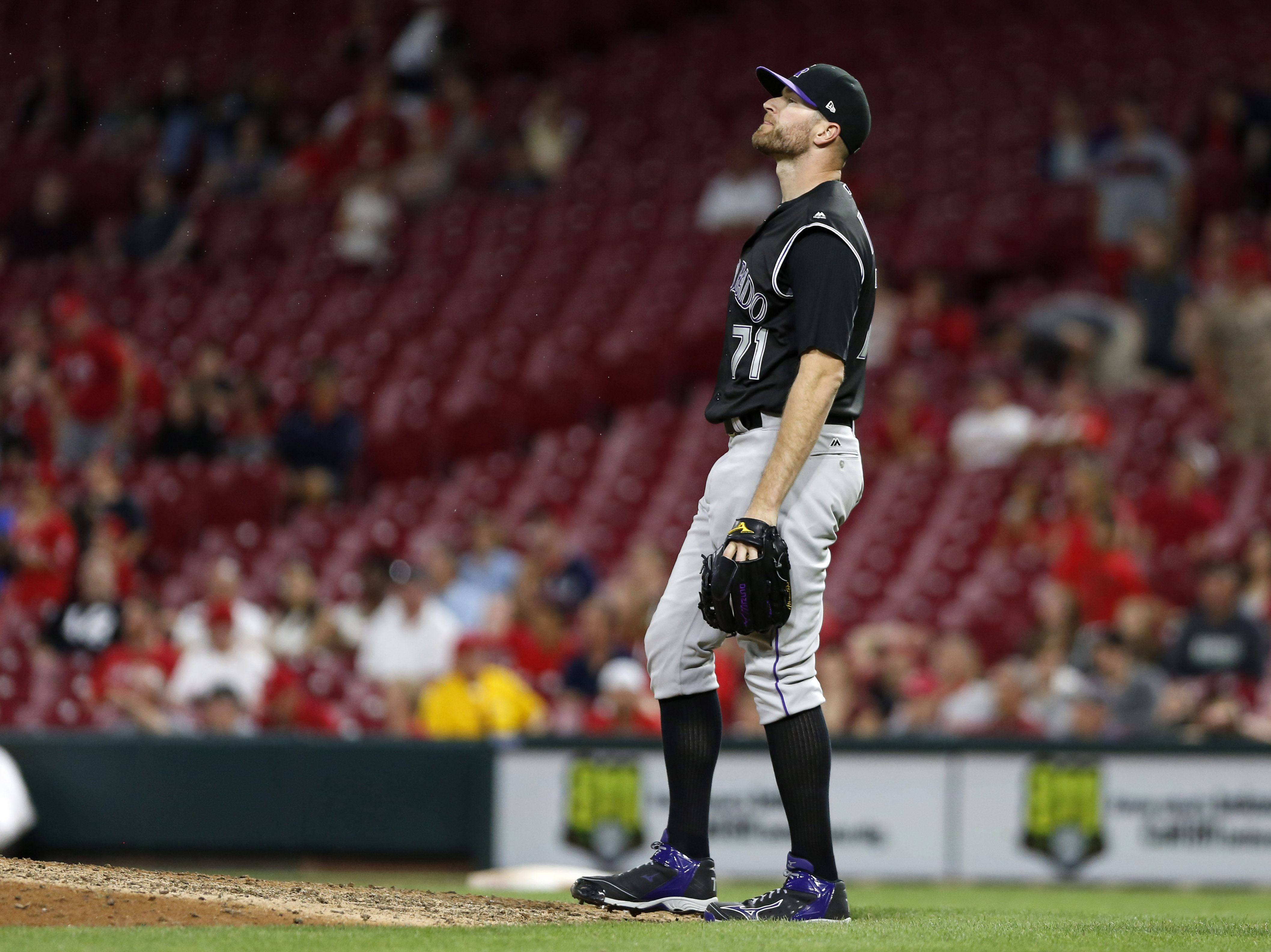 The Colorado Rockies' bullpen is downright awful