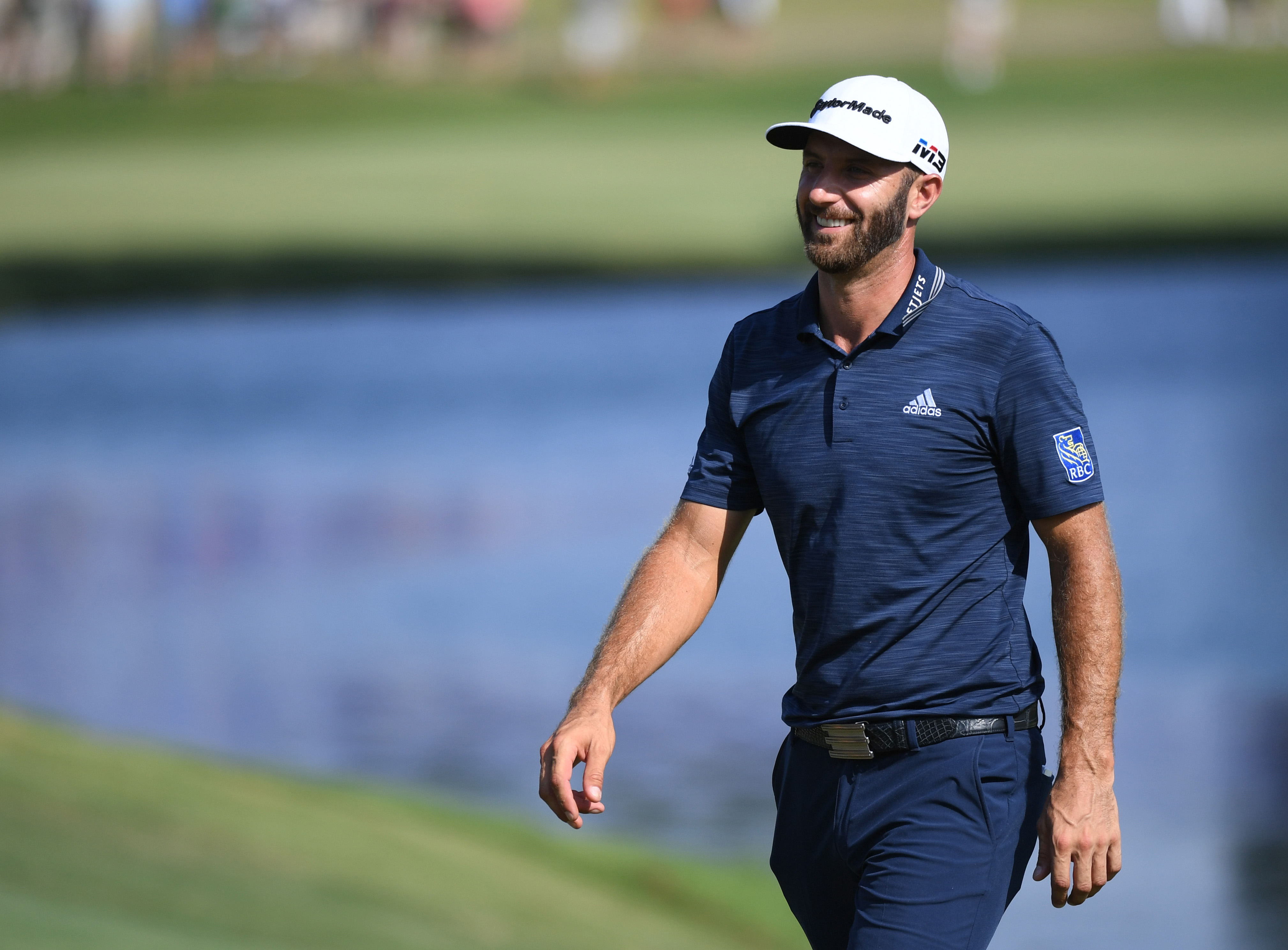 Dustin Johnson wins the Masters