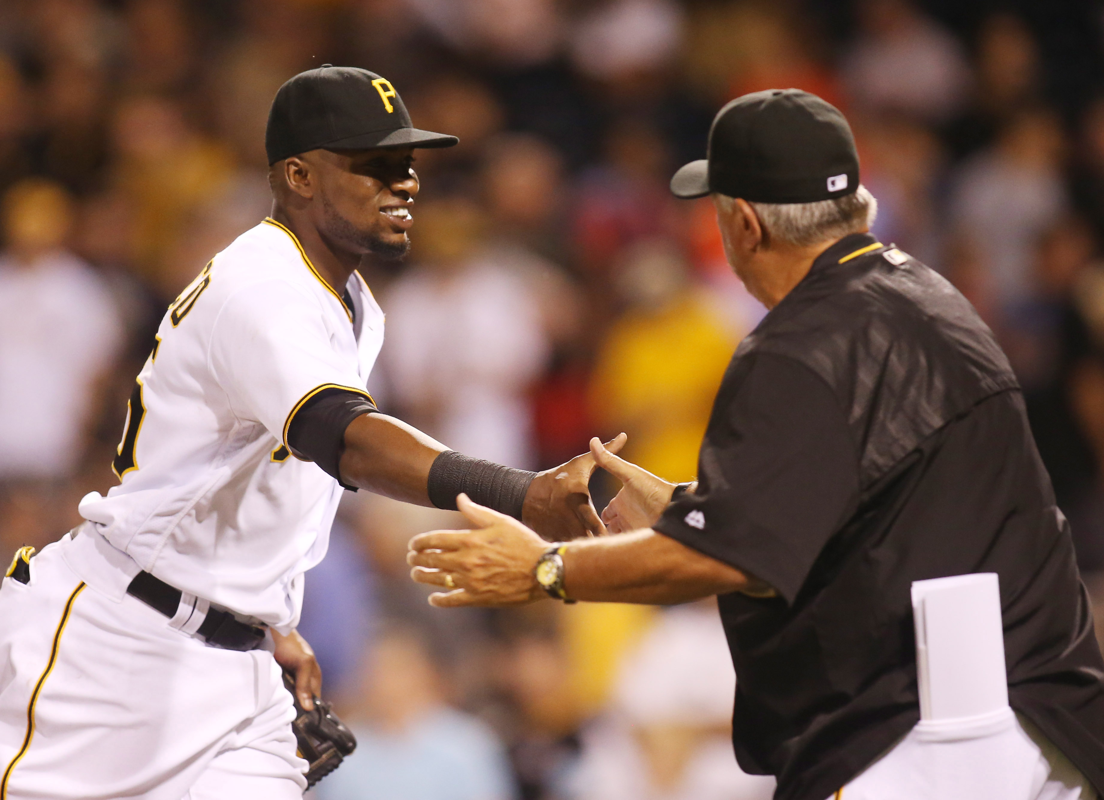 Why is Clint Hurdle protecting Gregory Polanco?