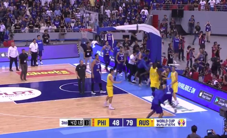 Video: FIBA FIGHT!!!