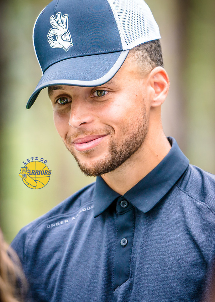 PHOTO GALLERY: Steph Curry golfing at American Century Championship in Tahoe (Friday)