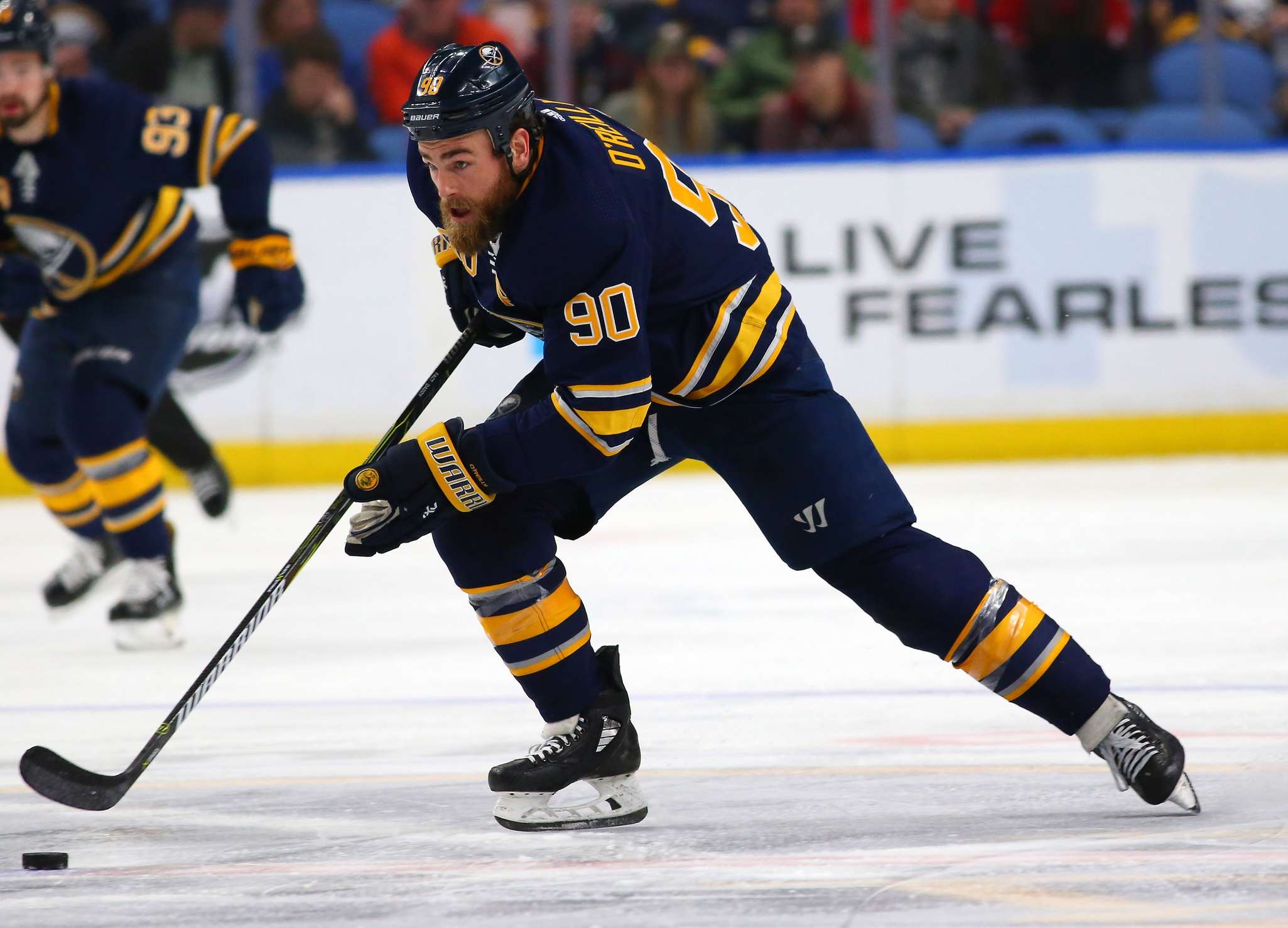 The Blues already have big plans for Ryan O'Reilly