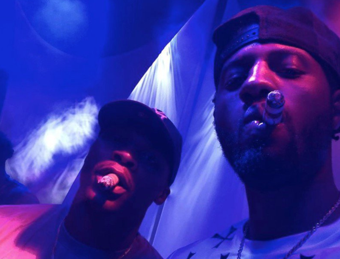 Watch Paul George announce he's staying in OKC partying with Russell Westbrook