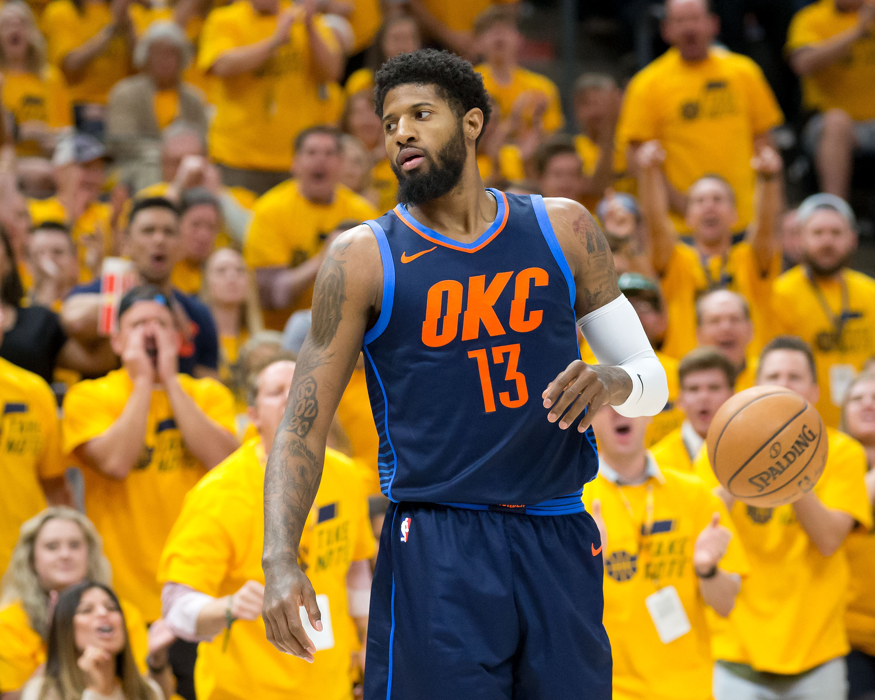 Paul George's contract could keep him in OKC for seven years