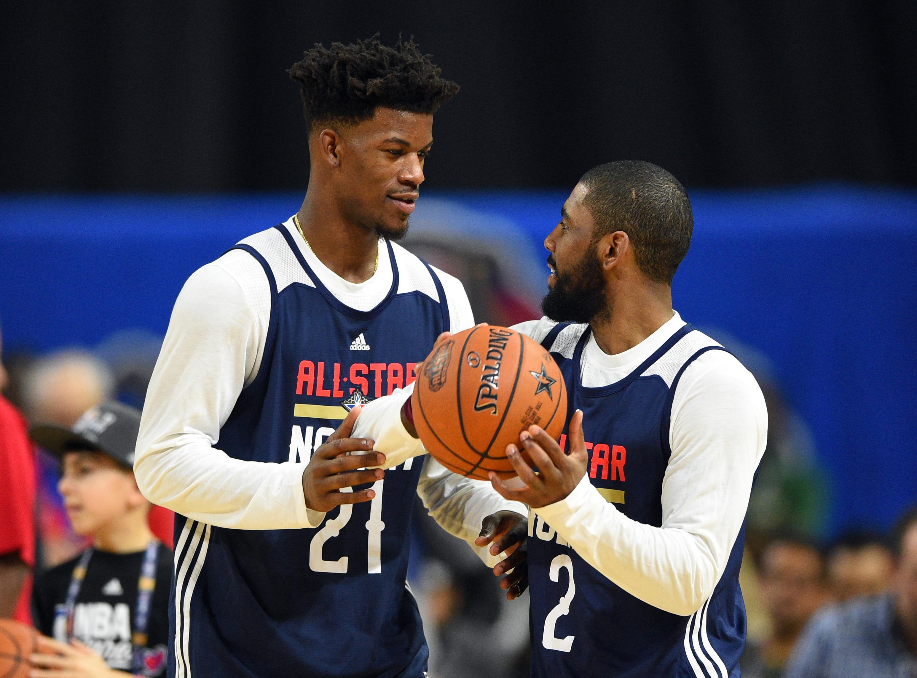 Kyrie Irving, Jimmy Butler locks to join Knicks next summer?
