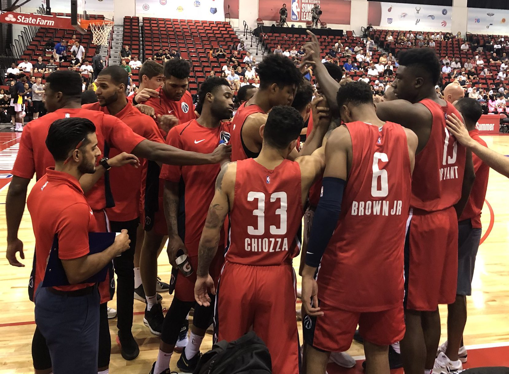 Wizards end Summer League feeling positive despite losses