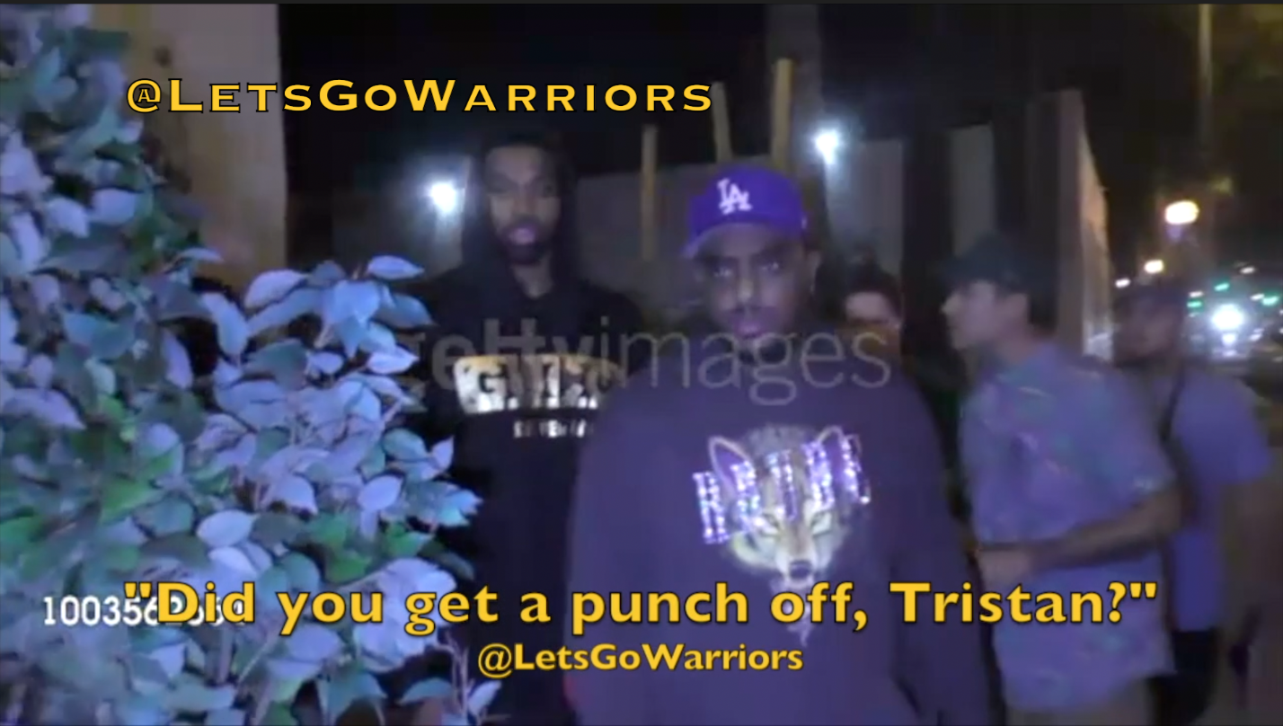 Did someone lie about the Draymond Green x Tristan Thompson altercation? Who punched whom? New video and evidence surface